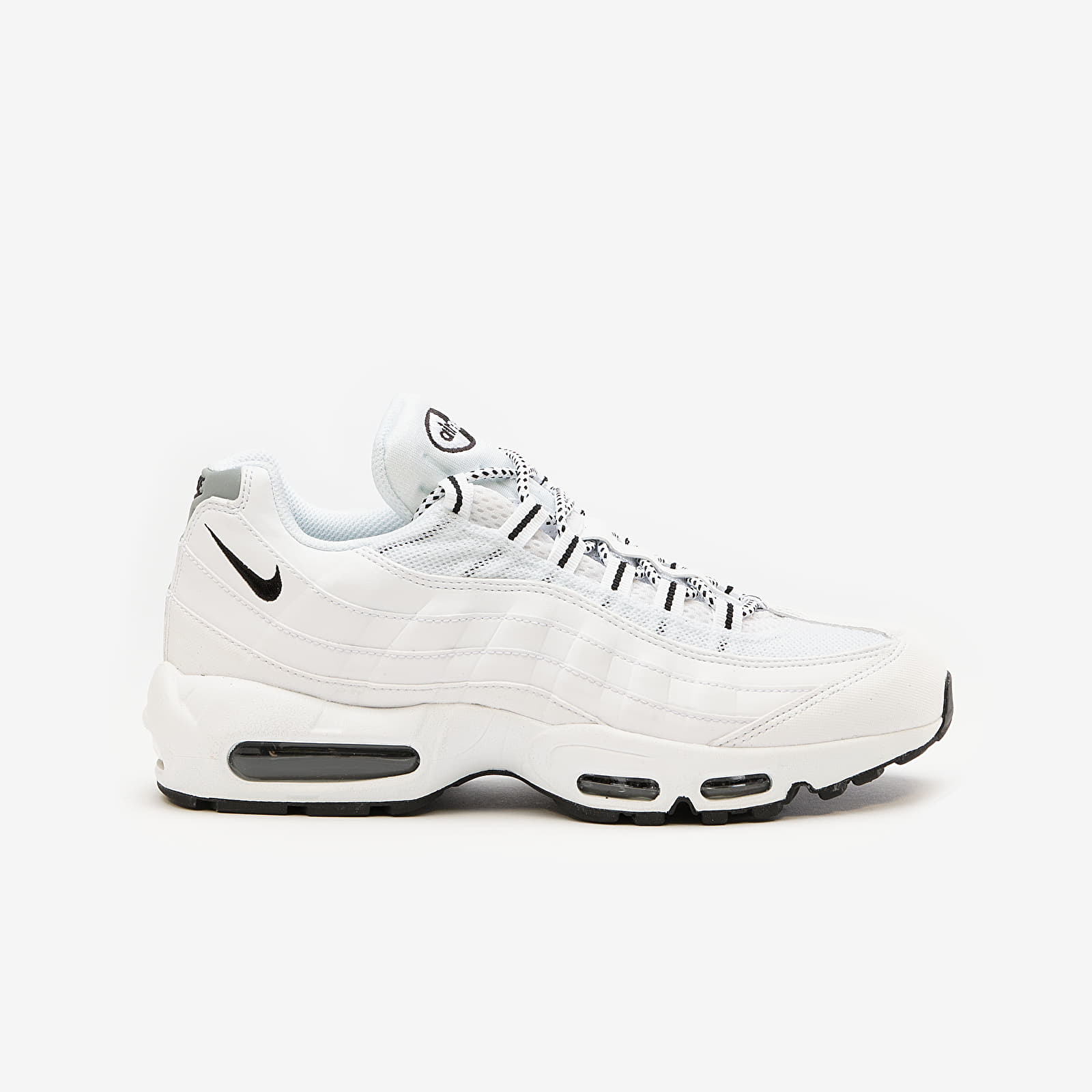 Männer Nike Air Max '95 White/ Black-Black