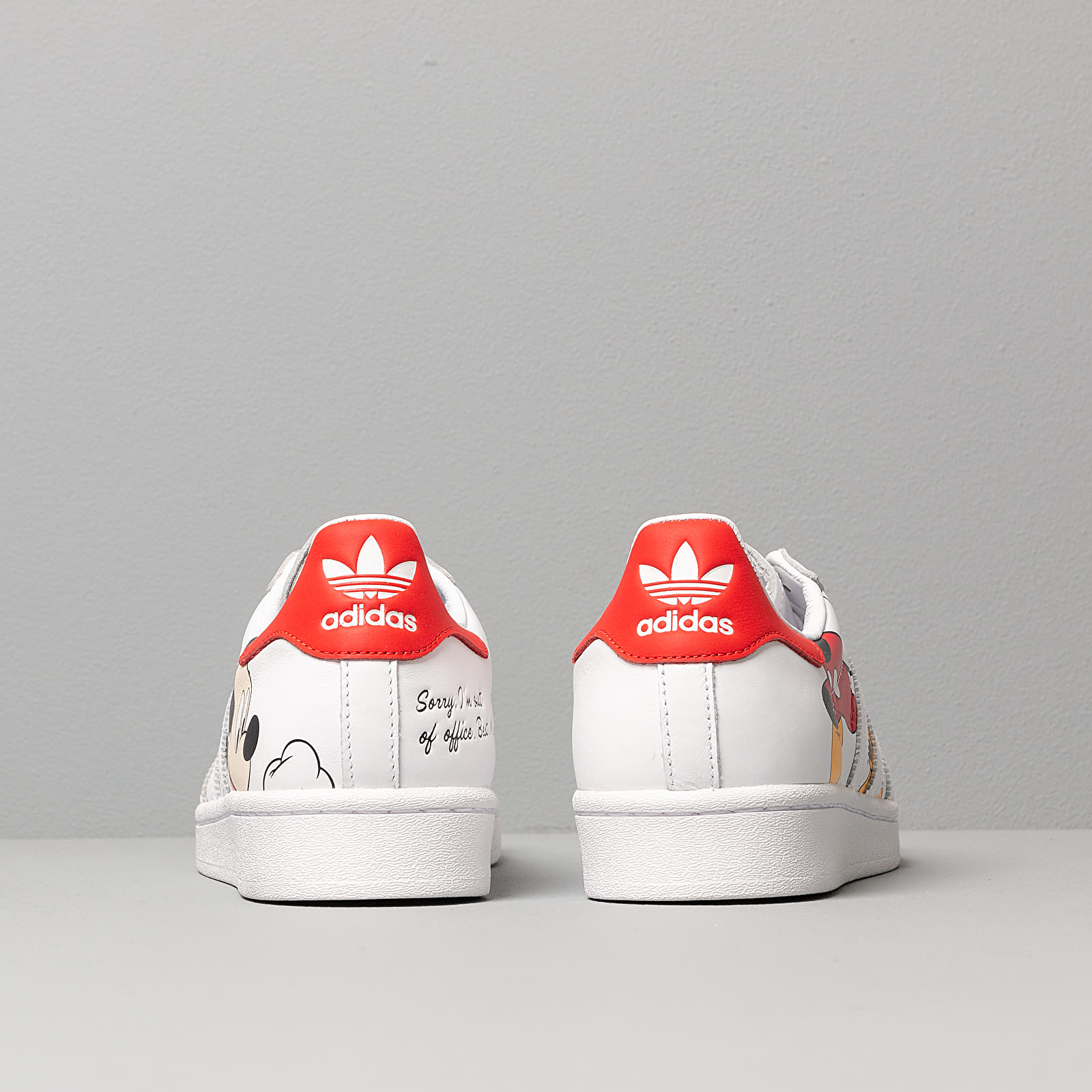 adidas Superstar Mickey Mouse Ftwr White Ftwr White Core Black | Footshop