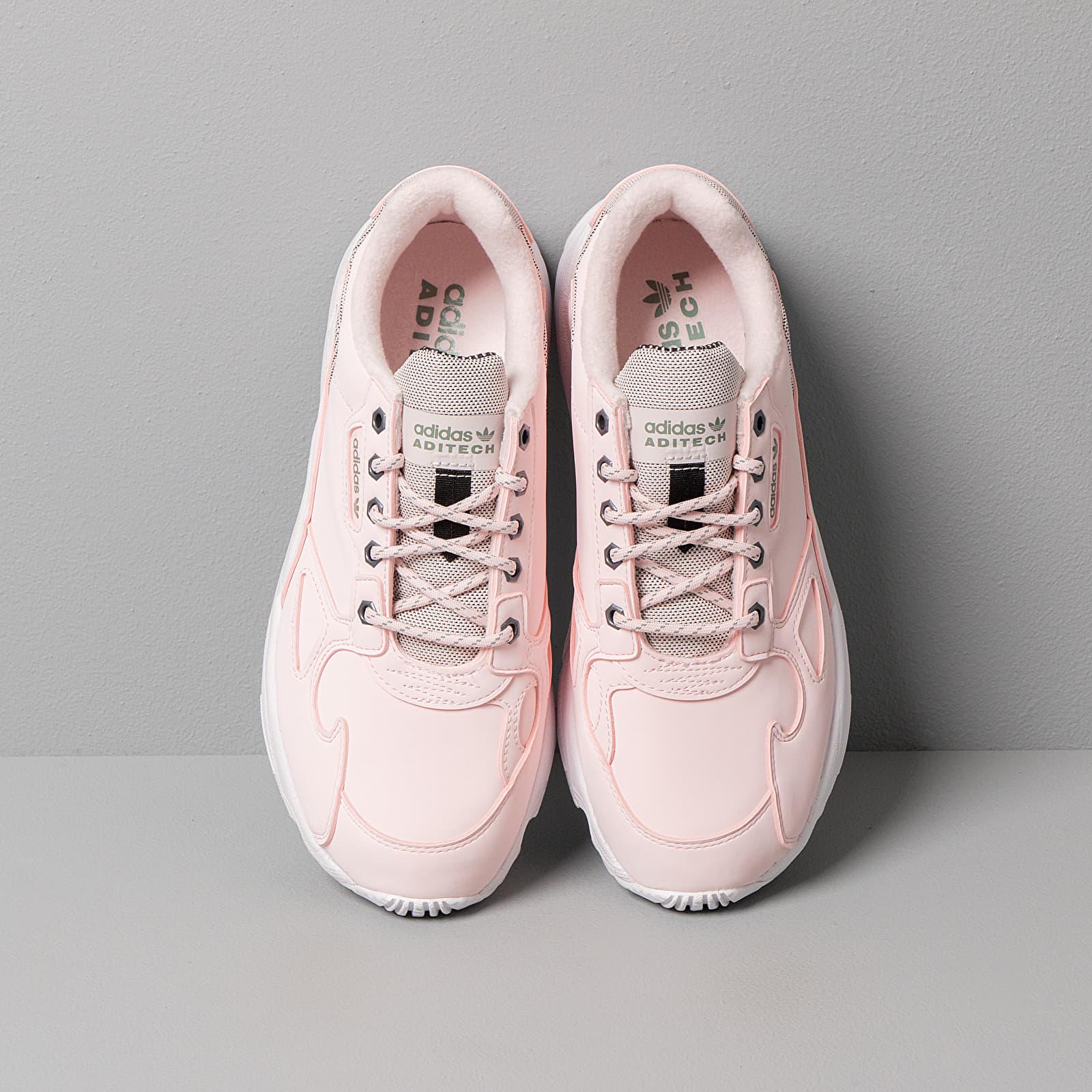 adidas Falcon W Half Pink Half Pink Trace Green | Footshop