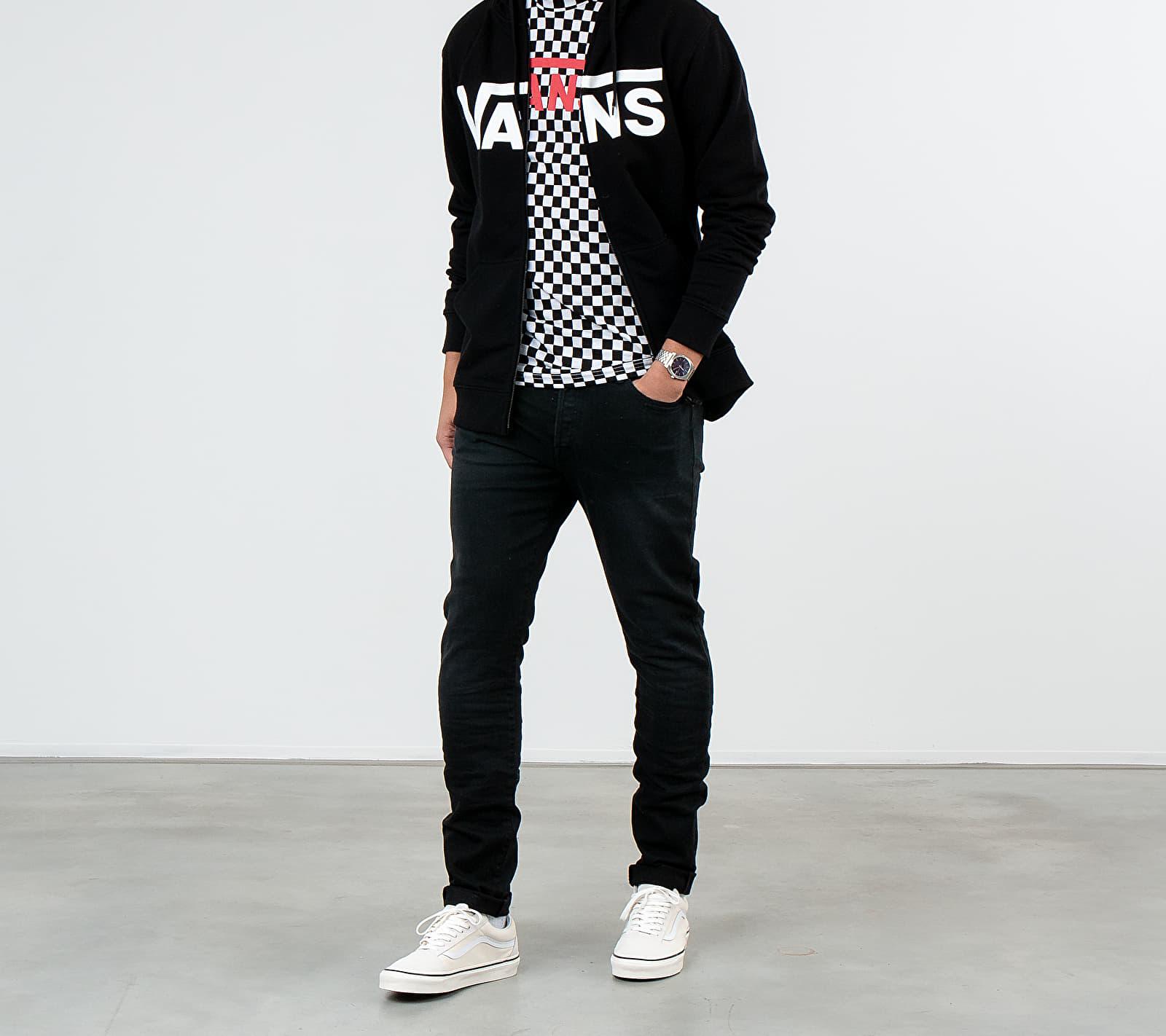 Vans Classic Zip Sweatshirt Black/ White