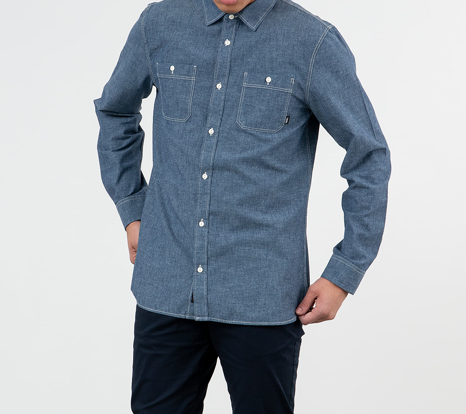 Vans Carlow Longsleeve II Shirt Dress Blues, Blue