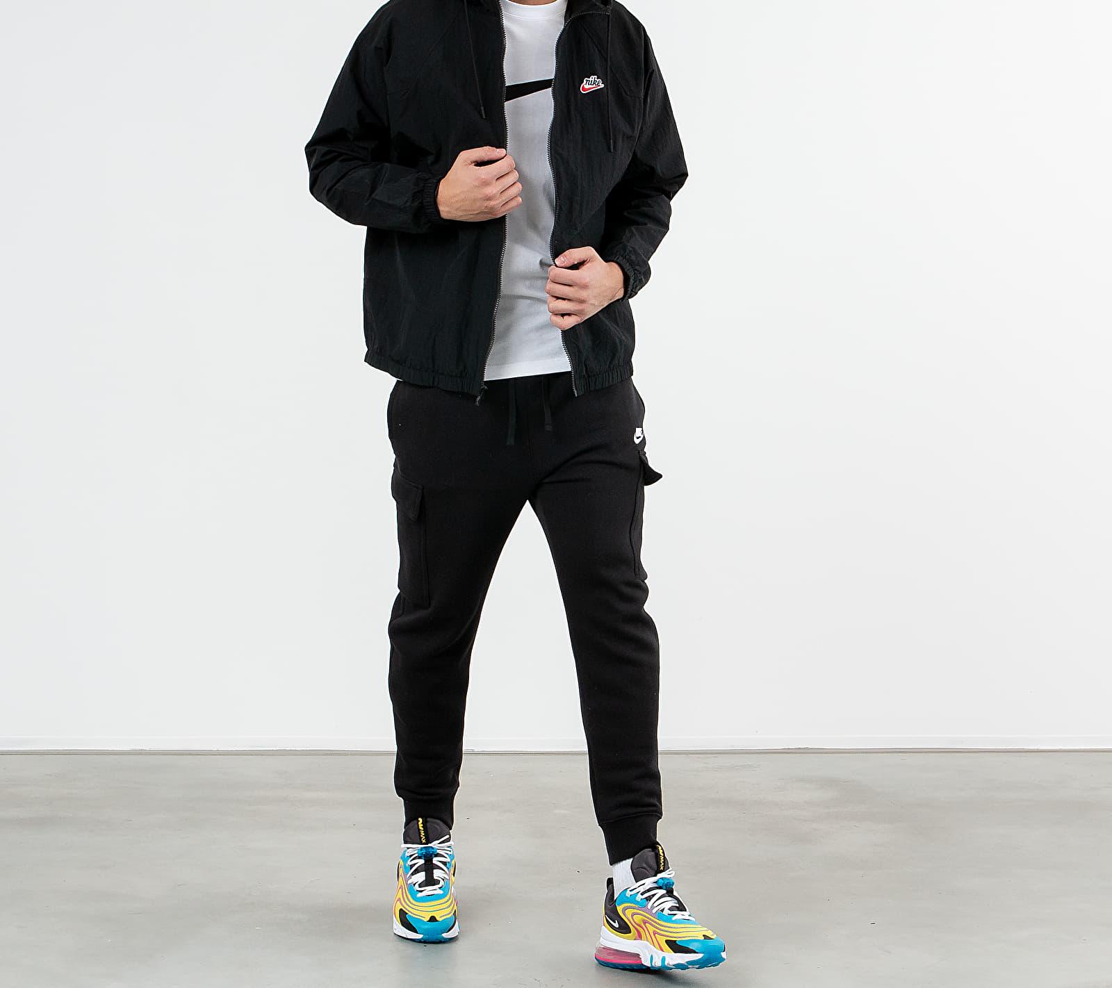Nike Sportswear HE Wr Woven Signature Jacket Black/ Black/ Black