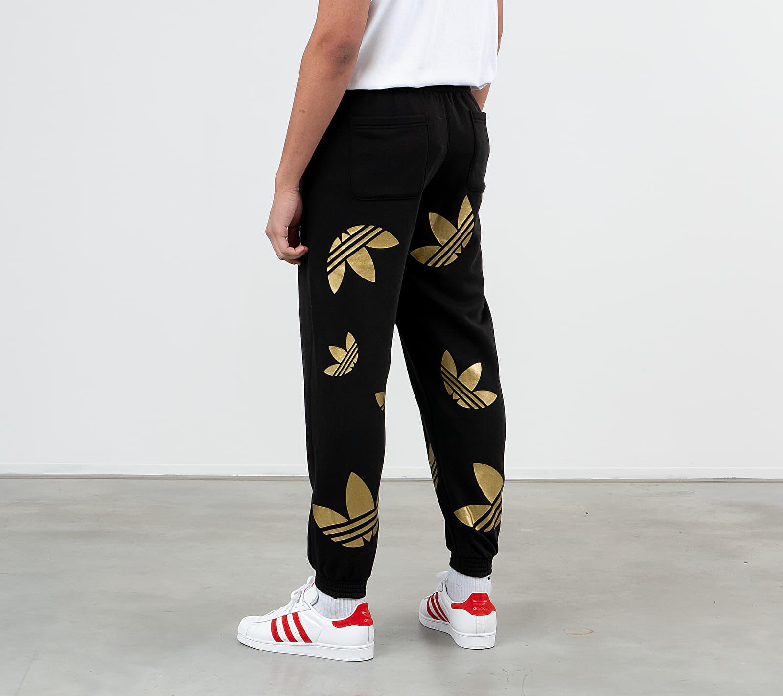adidas Reflective/ Metallic Pants Black/ Platin Metallic