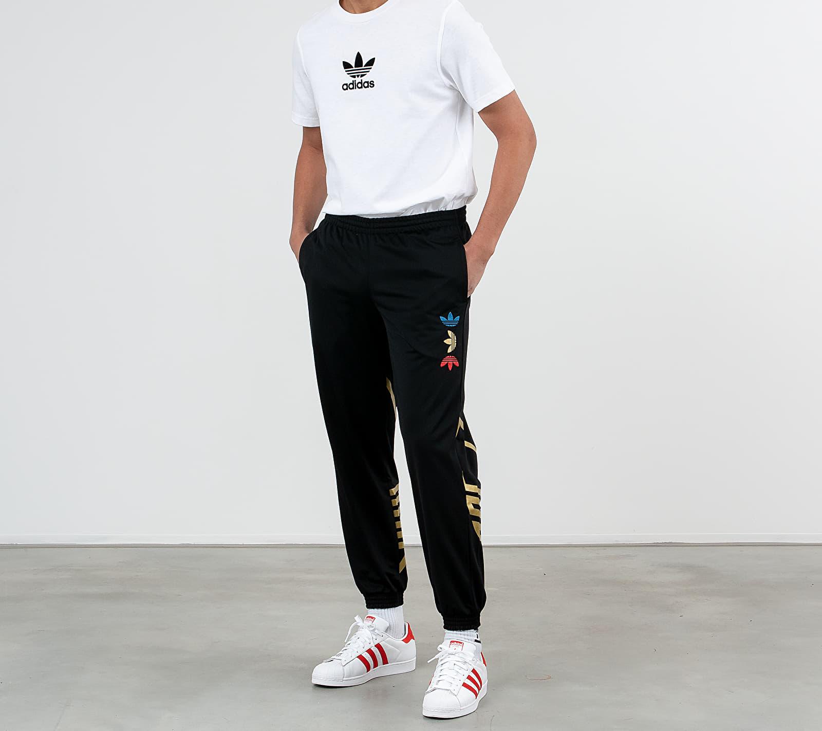 adidas Reflective/ Metallic Trackpants Black/ Platin Metallic