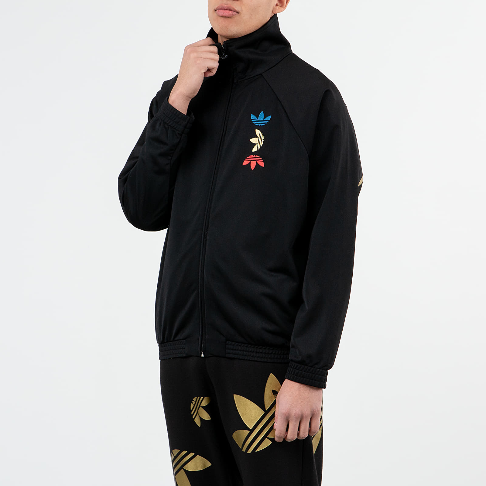 Sweatshirts adidas Reflective/ Metallic Track Top Black/ Platin Metallic