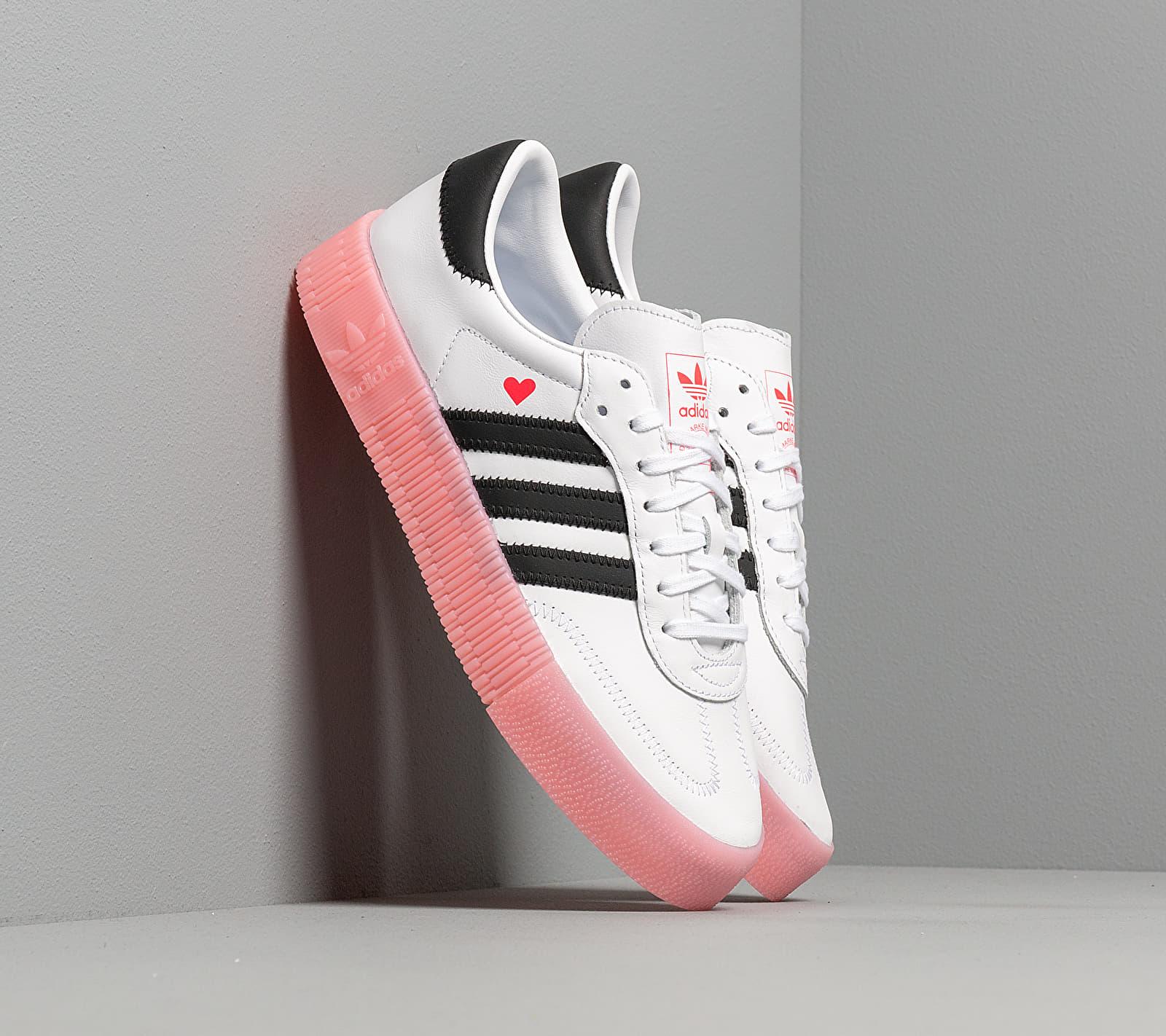 adidas Sambarose W Ftw White/ Core Black/ Glow Pink EUR 41 1/3