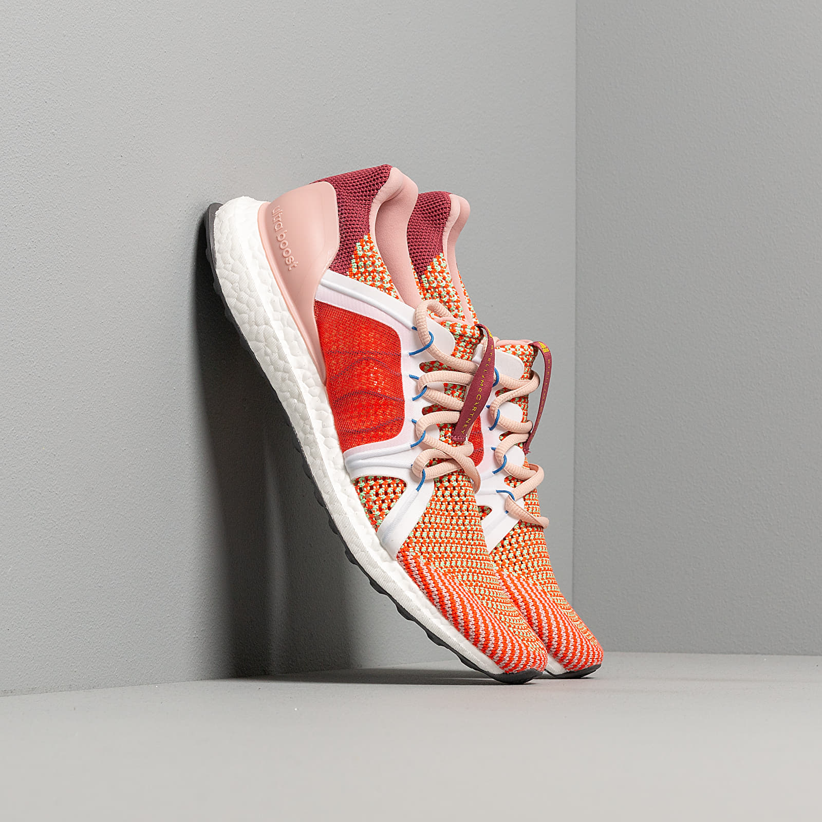 Women's shoes adidas x Stella McCartney UltraBOOST Legend Red/ Active Orange/ Ftw White
