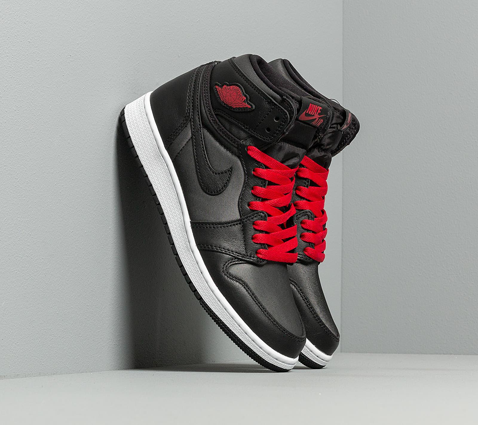 Air Jordan 1 Retro High OG GS Black/ Gym Red-Black-White EUR 36