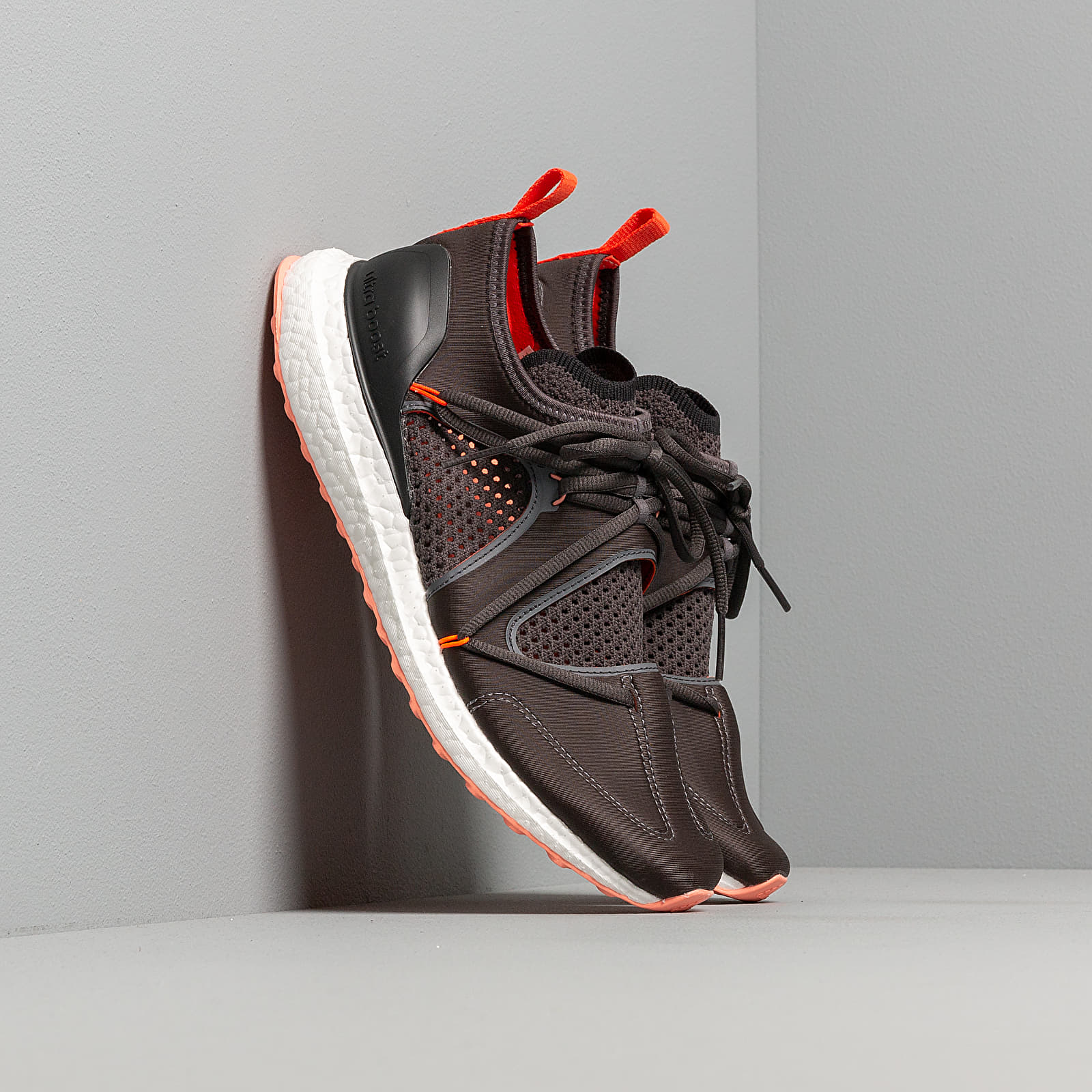 Women's shoes adidas x Stella McCartney UltraBOOST T Utility Black/ Granite/ Solar Orange