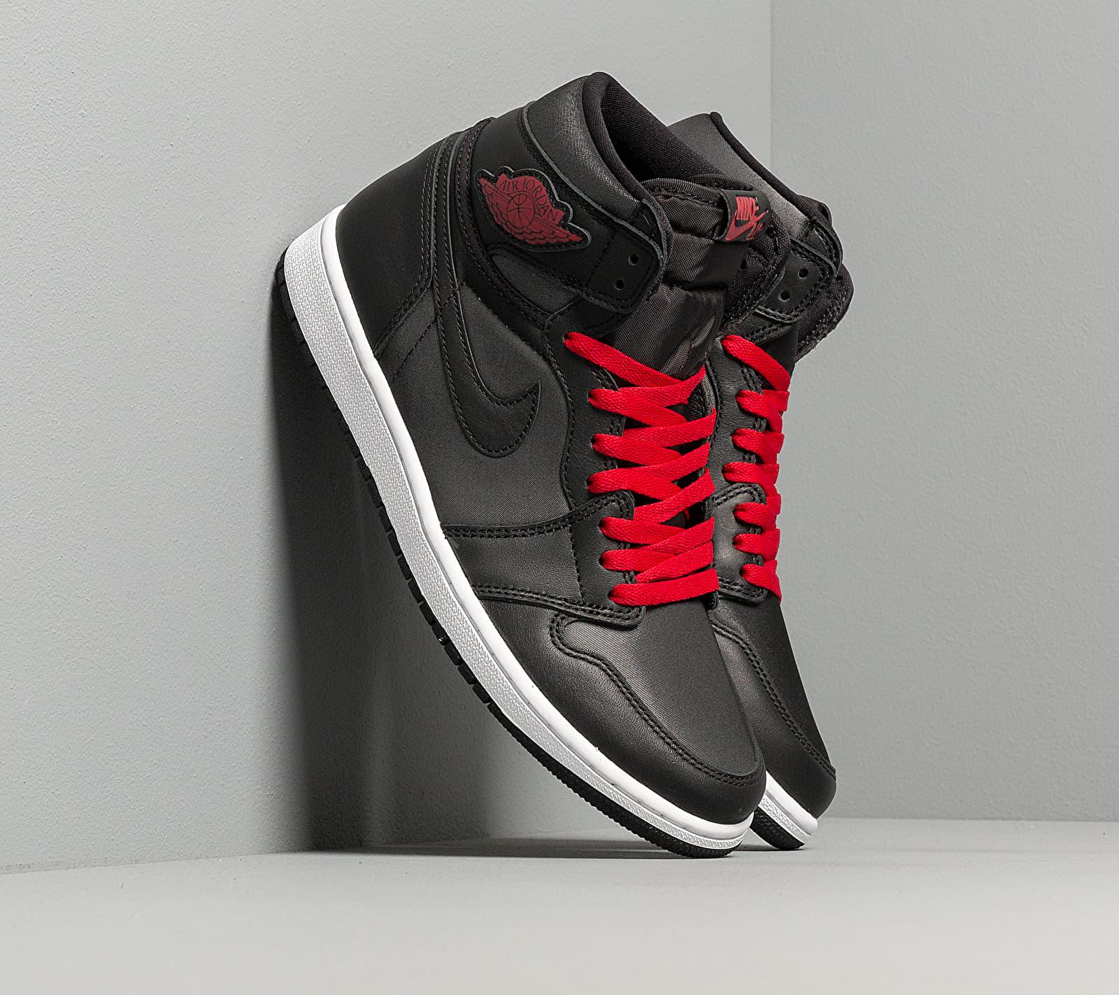 Air Jordan 1 Retro High OG Black/ Gym Red-Black-White EUR 46