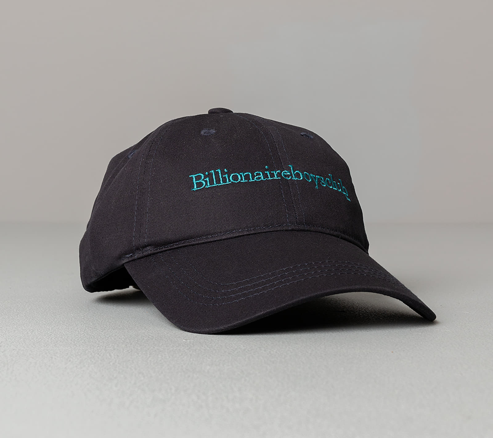 Billionaire Boys Club Embroidered Curved Visor Hat Navy