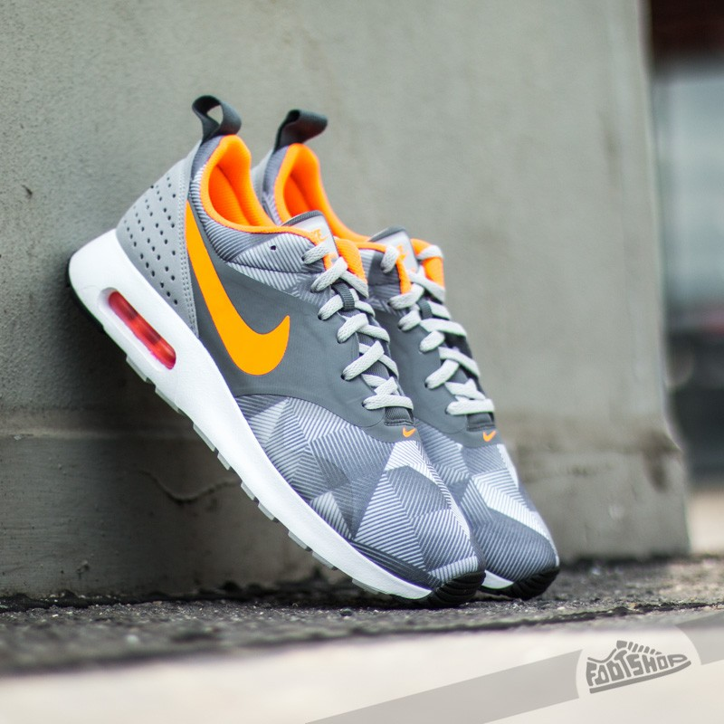 designer fashion 3e795 32743 Nike Air Max Tavas Print Dark Grey/Total Orange-Wolf Grey-White ...