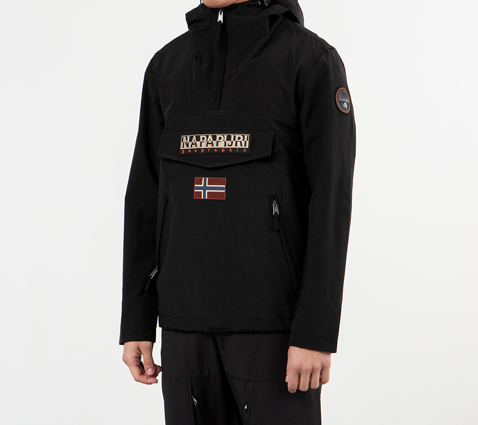 NAPAPIJRI Rainforest Pocket Jacket Black