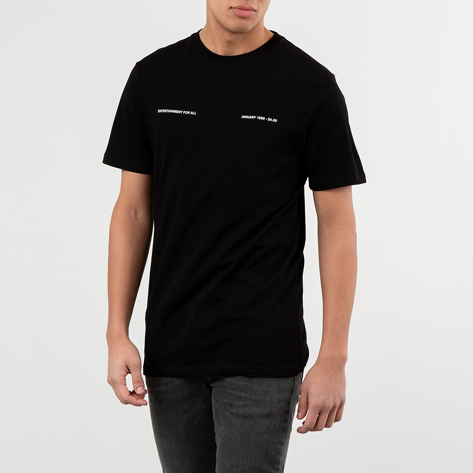 Trička Soulland January Tee Black