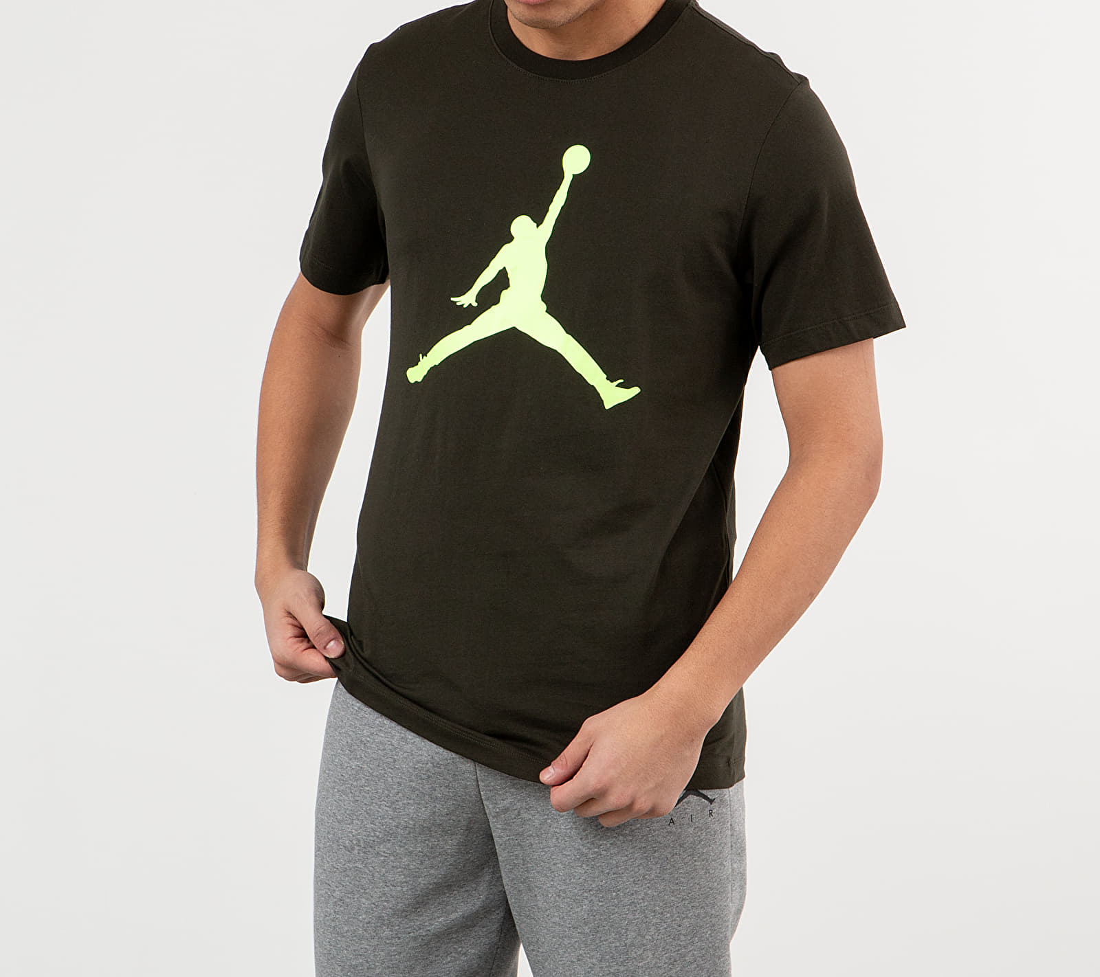 Jordan Jumpman Tee Sequoia/ Ghost Green