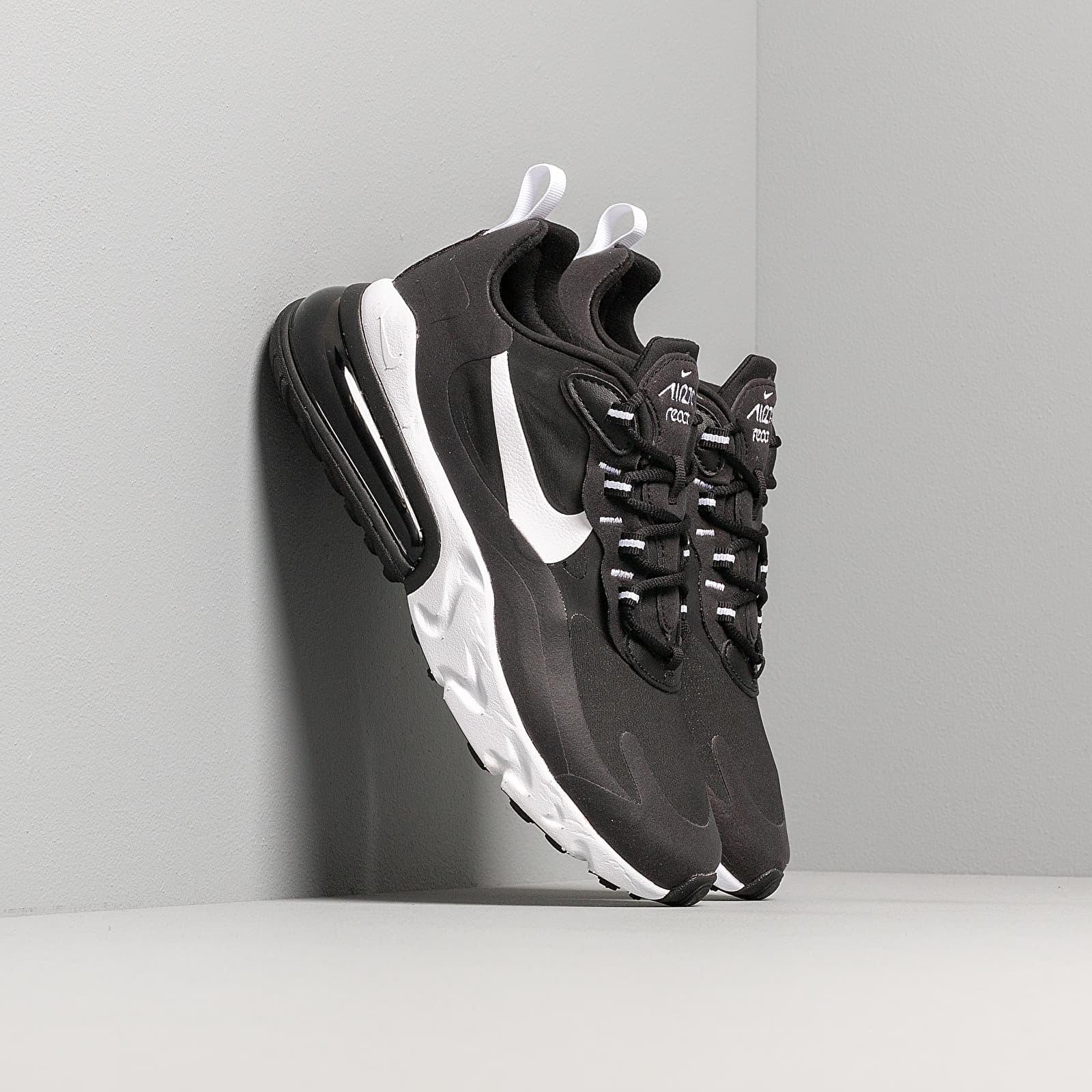 Chaussures et baskets homme Nike Air Max 270 React Black/ White-Black