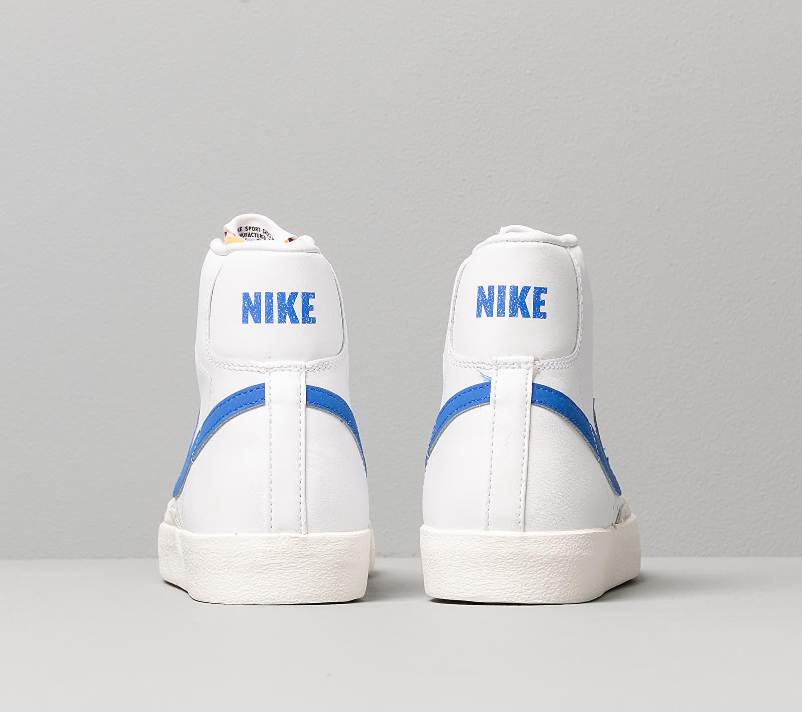 Nike Blazer Mid '77 Vintage White/ Racer Blue-Sail