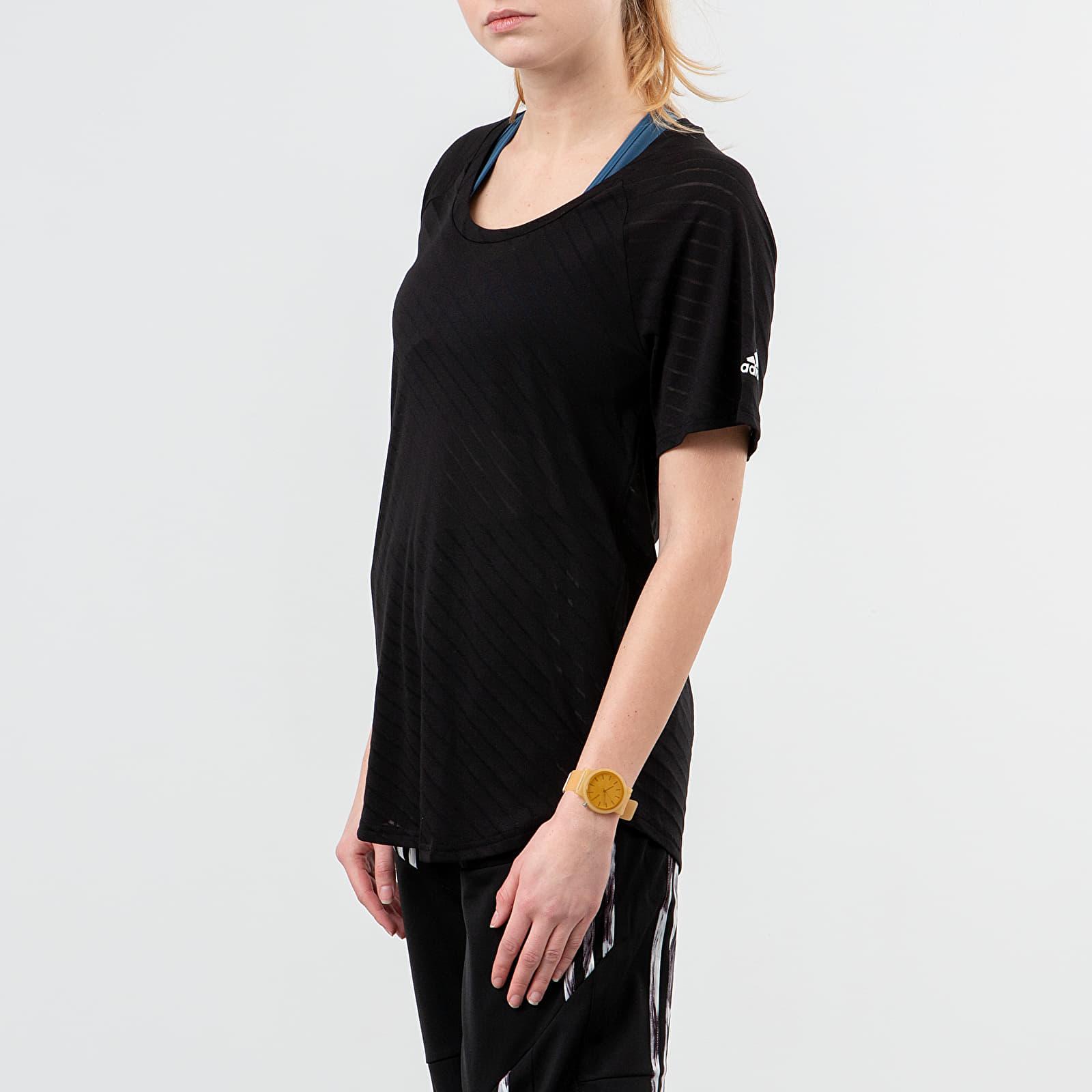 T-shirts adidas Burn Out Tee Black