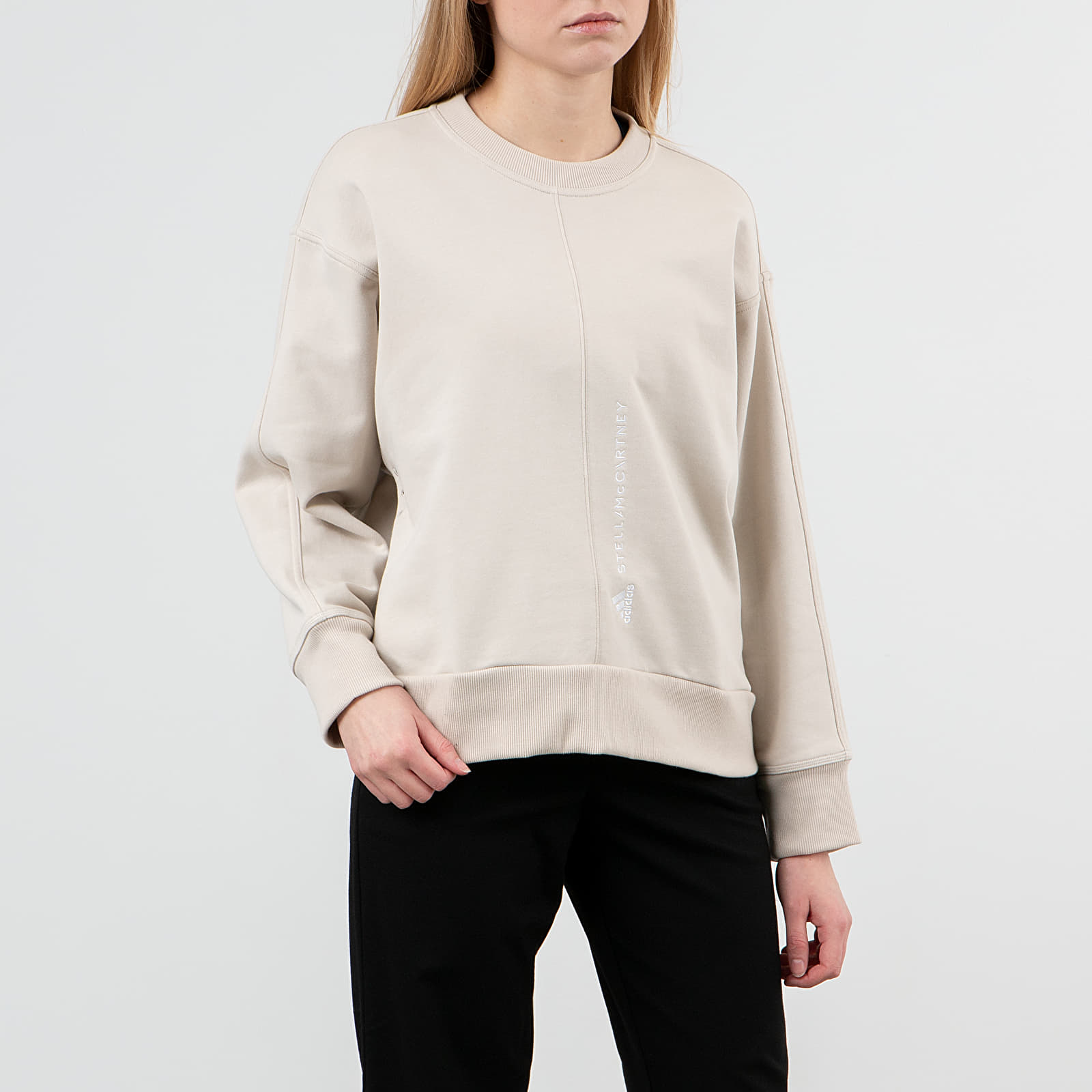 Mikiny a svetry adidas x Stella McCartney Essential Sweatshirt Clear Brown