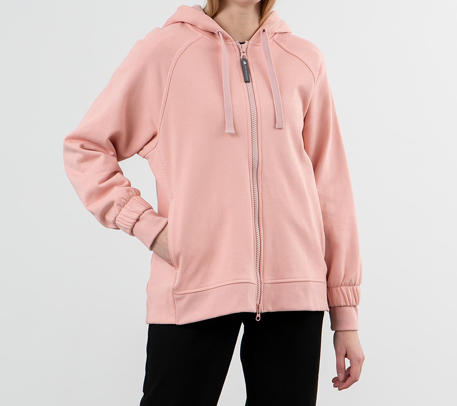 adidas x Stella McCartney Essential Hoodie Pink Spirit M