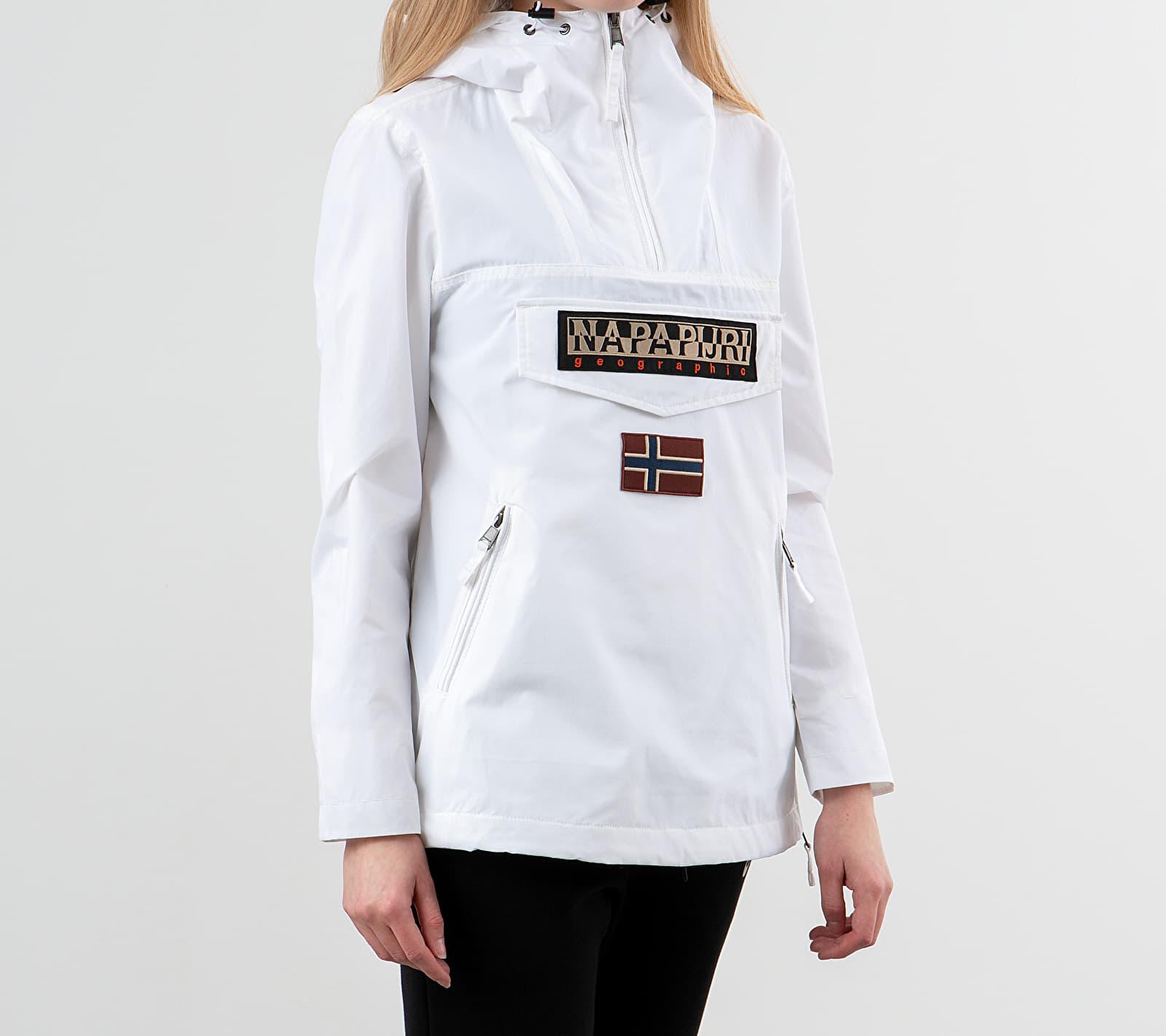 NAPAPIJRI Rainforest Pocket Jacket Bright White