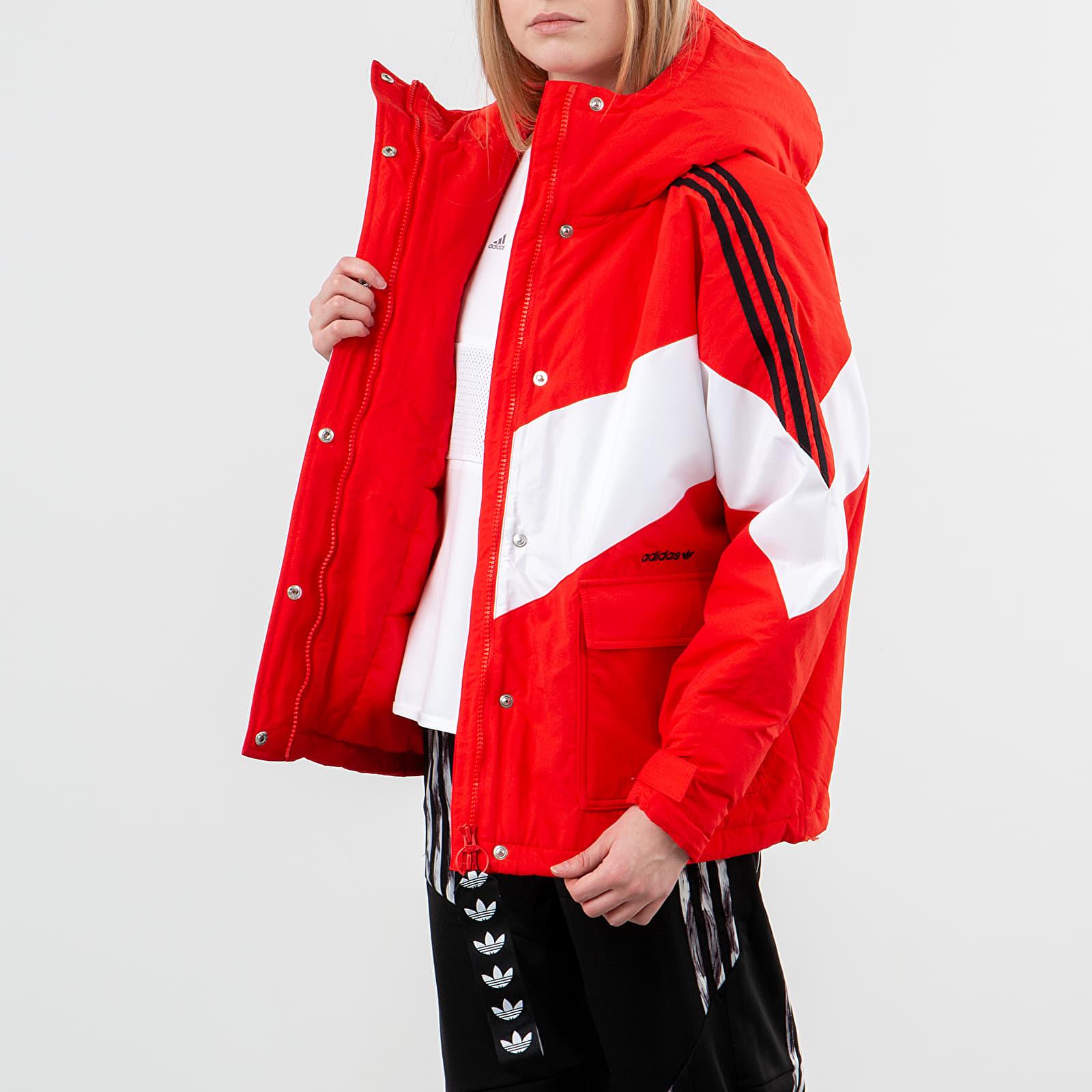 Jacken adidas Iconic Winter Jacket Active Red/ White/ Black
