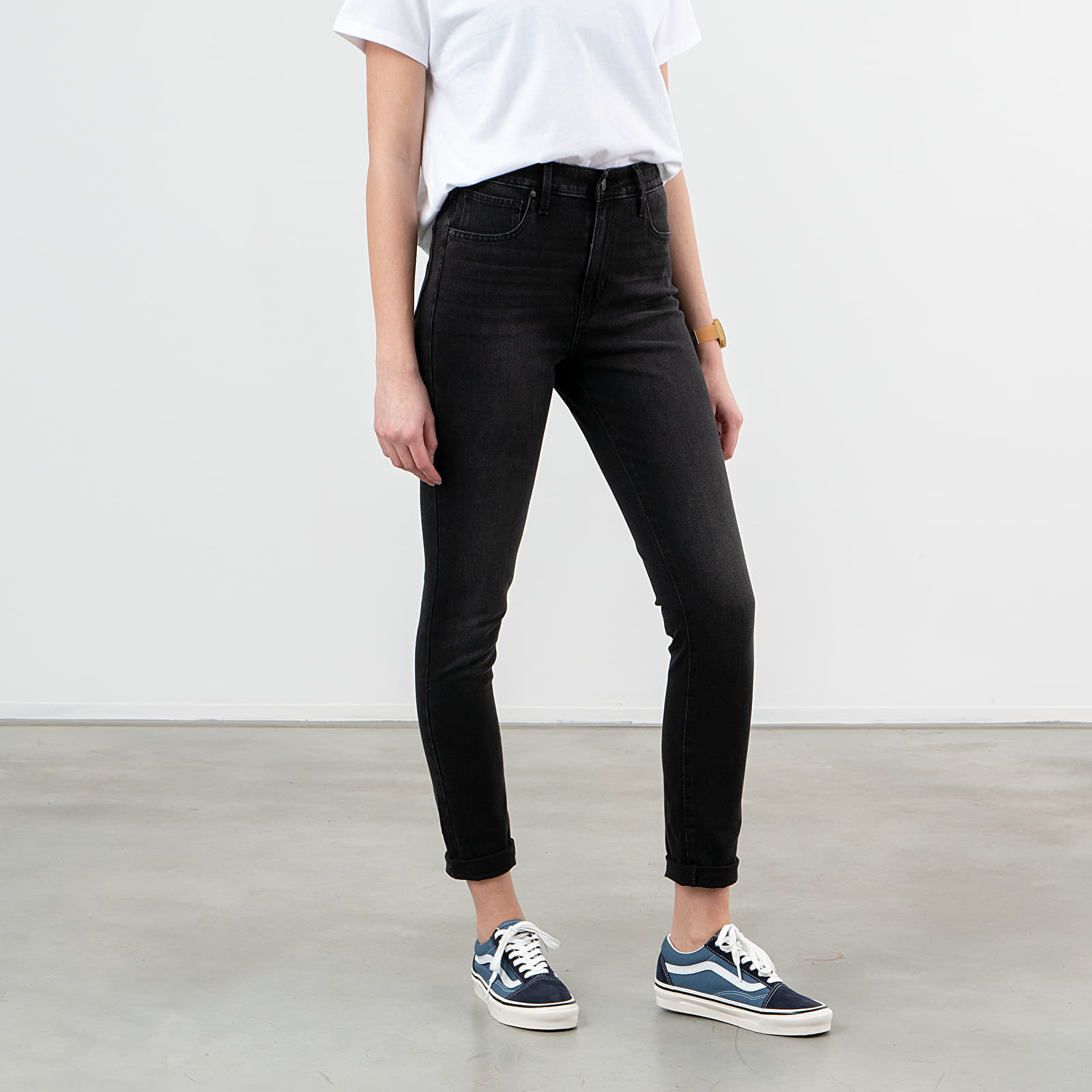 Pants and jeans Levi's® High Waisted Skinny Jeans Shady Acres/ Black