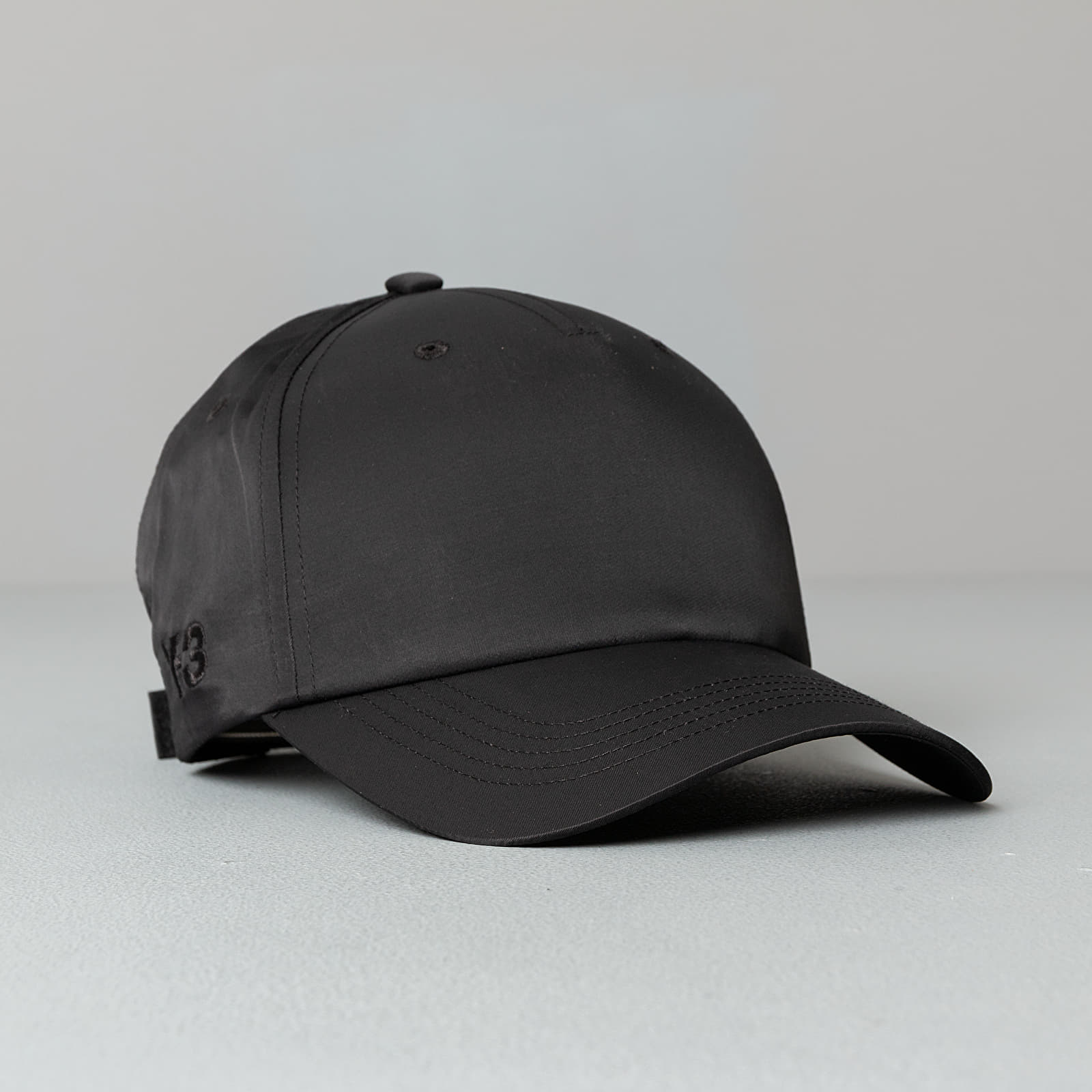 Kšiltovky Y-3 Nyl Cap Black