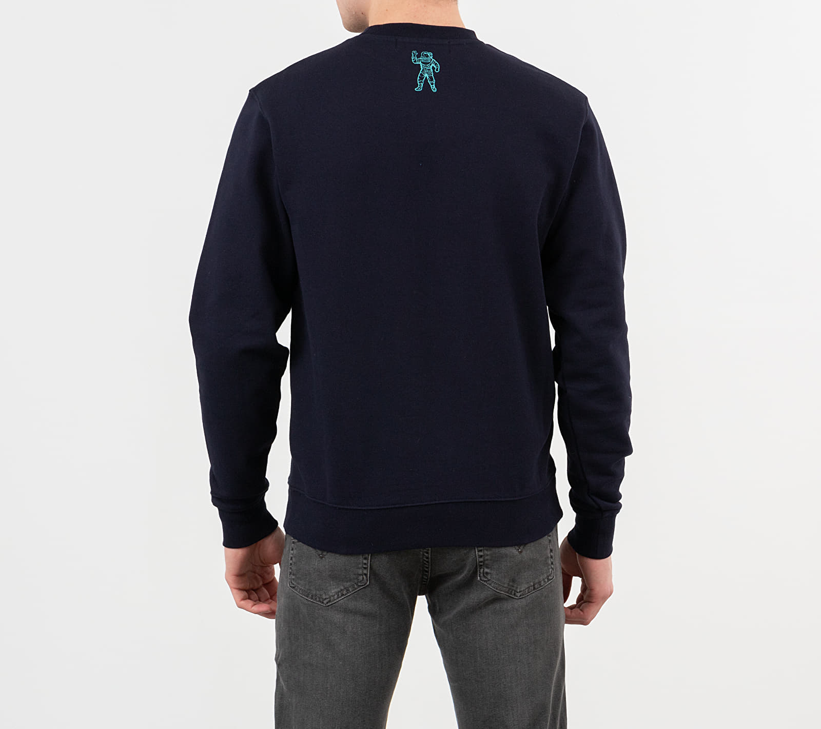 Billionaire Boys Club Embroidered Logo Crewneck Navy, Blue