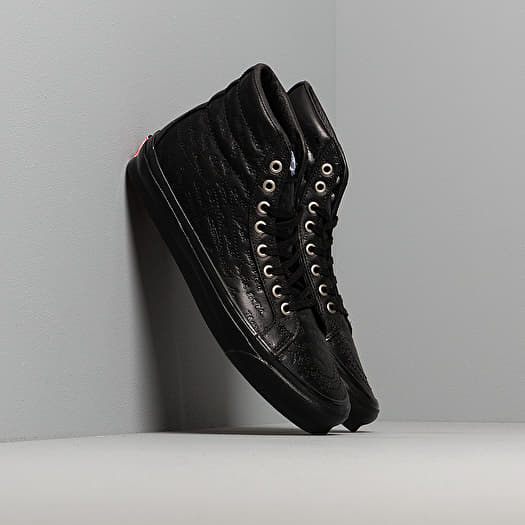 Vans OG Sk8 Hi LX (Jim Goldberg) Black Leather