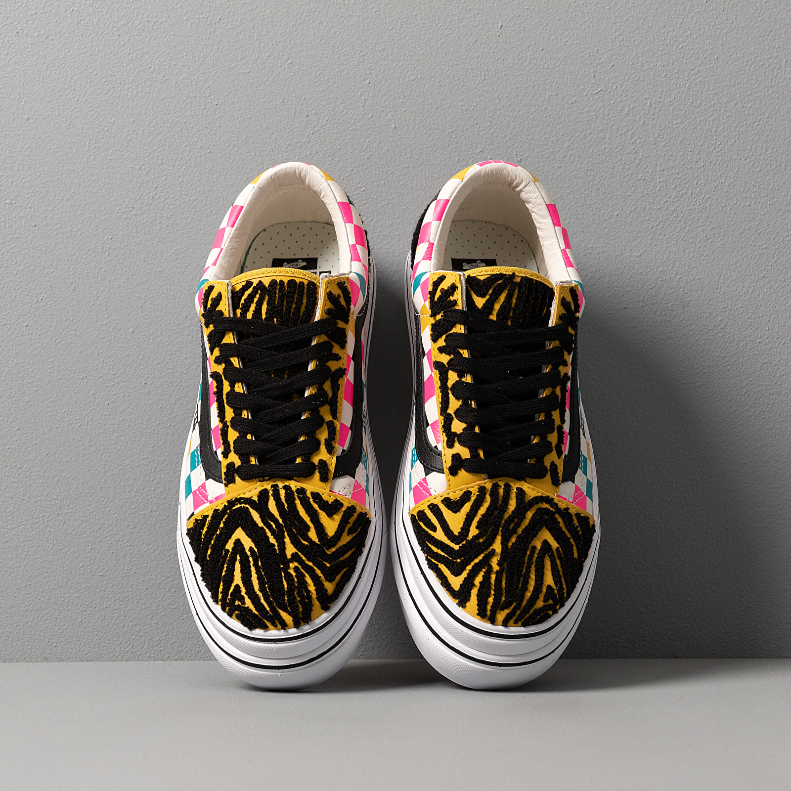Vans Super ComfyCush Old Skool(Tiger Check) Multi