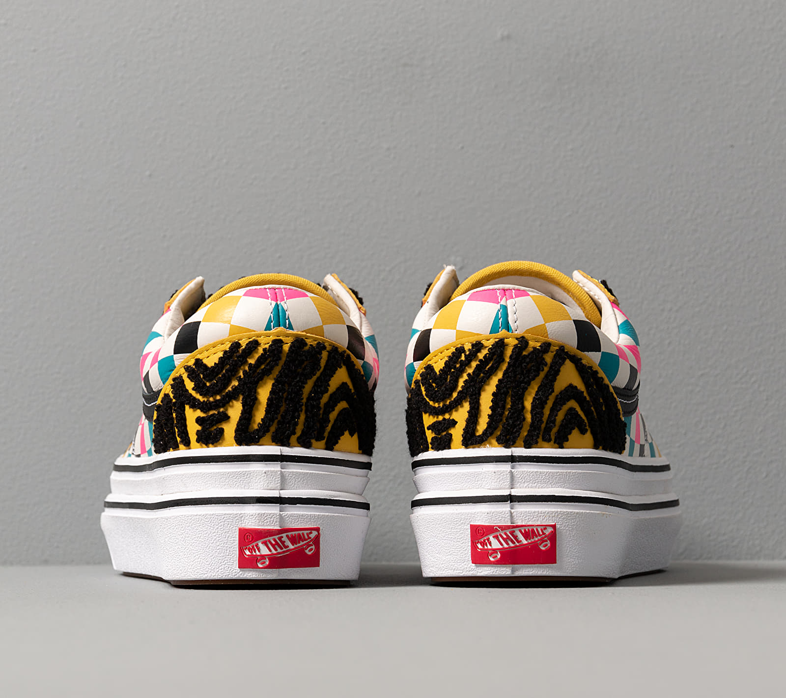 Vans Super Comfycush Old Skool (Tiger/ Check) Multi, Multicolour