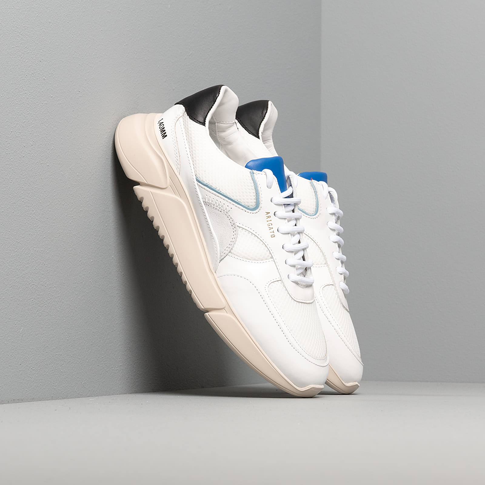 Men's shoes Axel Arigato Genesis Black/ Cobalt/ Blue/ Yellow