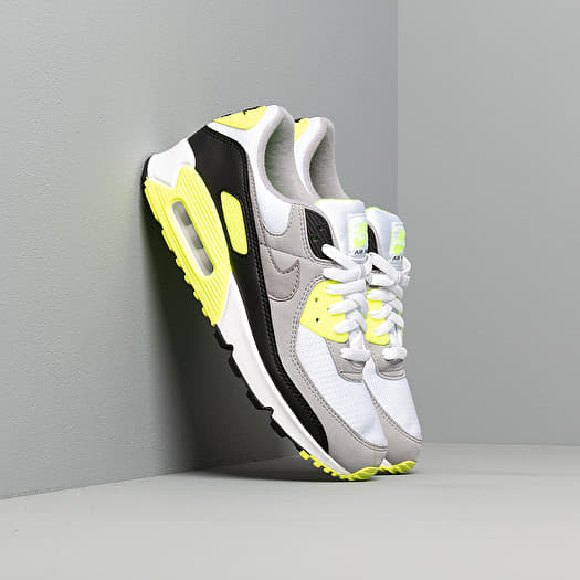 Nike Air Max 90 White Particle Grey Volt Black