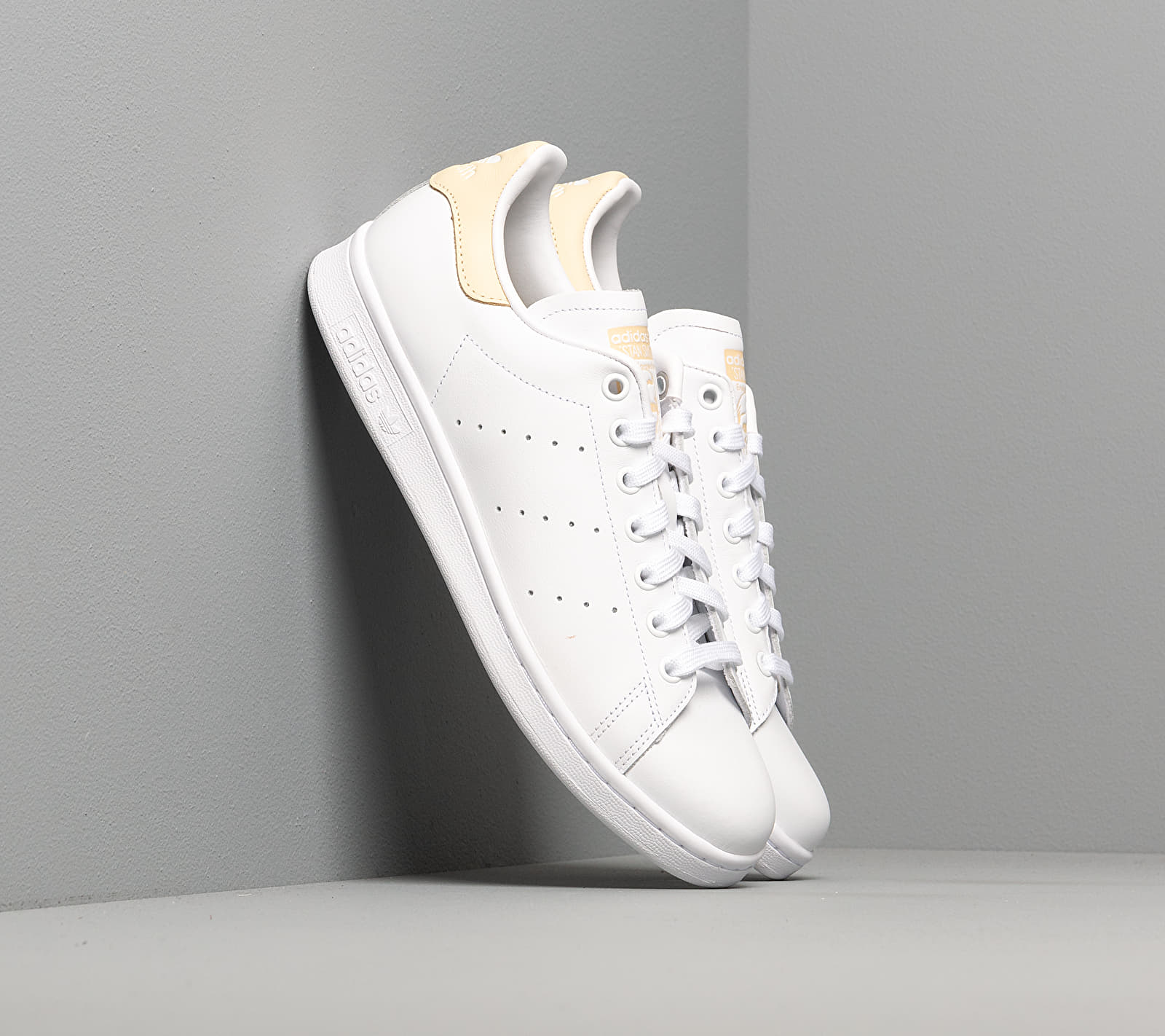 adidas Stan Smith Ftw White/ Ftw White/ Easy Yellow EUR 44 2/3