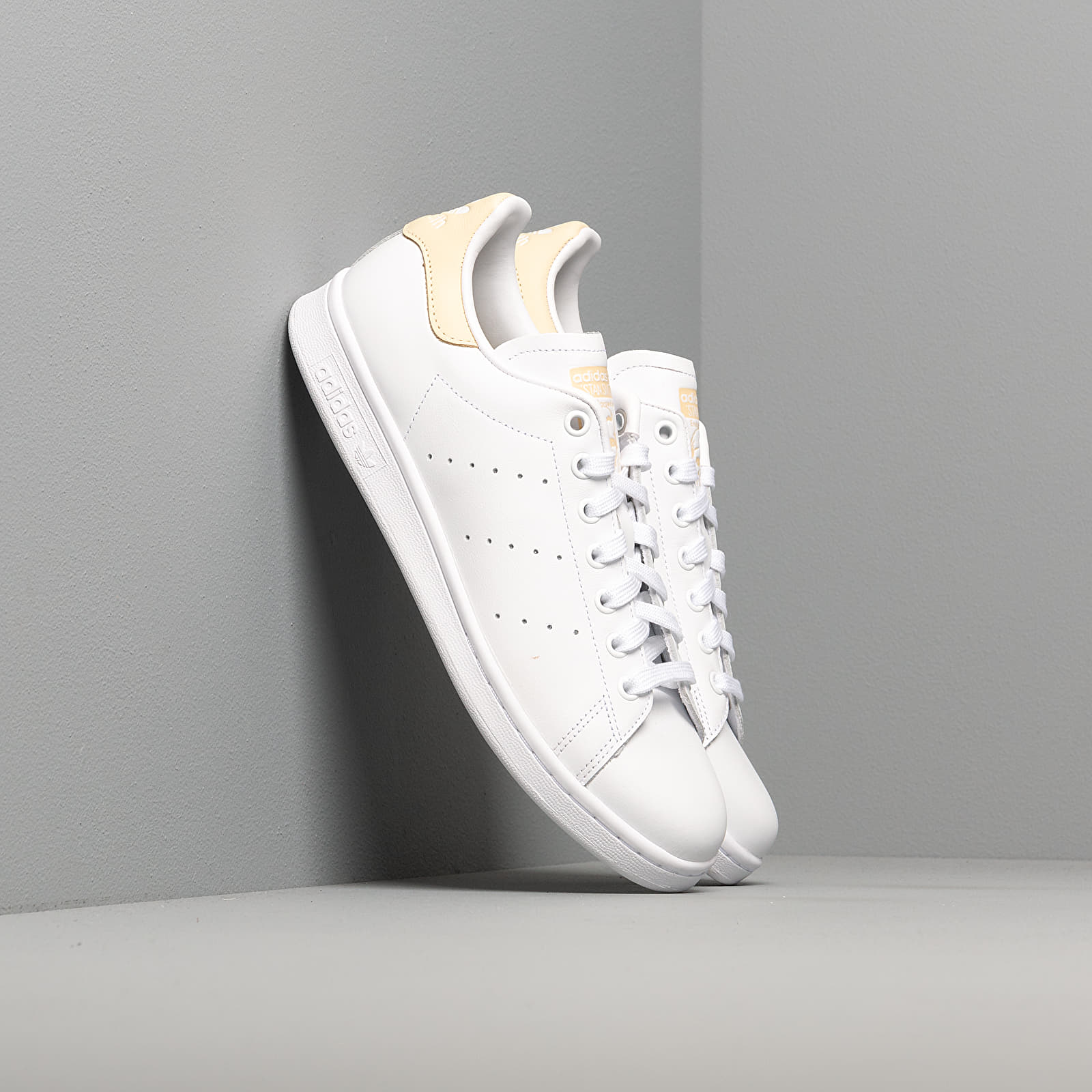 Men's shoes adidas Stan Smith Ftw White/ Ftw White/ Easy Yellow
