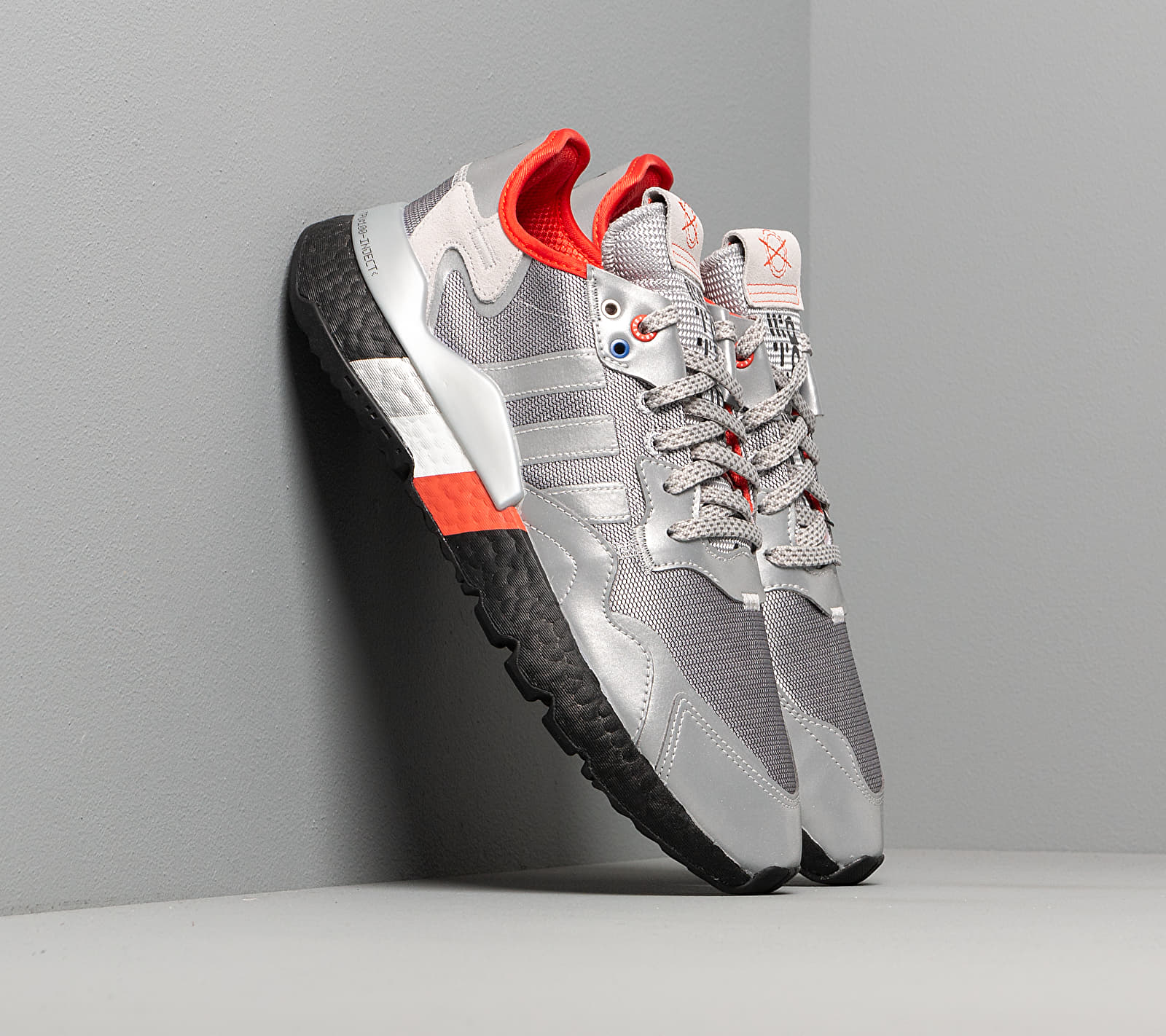 adidas Nite Jogger Silver Metalic/ Silver Metalic/ Core Black EUR 46
