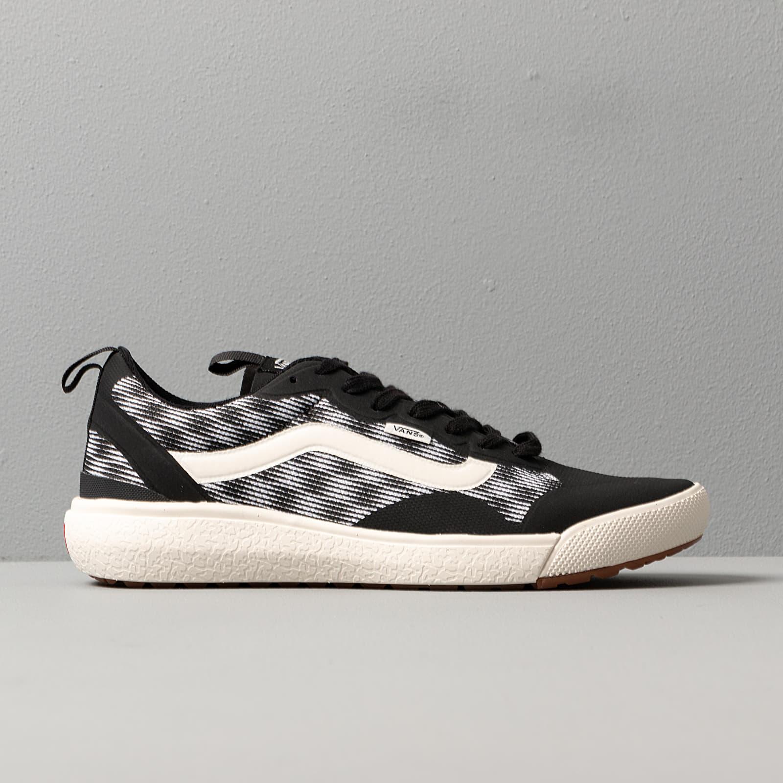 Vans Ultrarange EXO (Blur Checker) Black White   Footshop