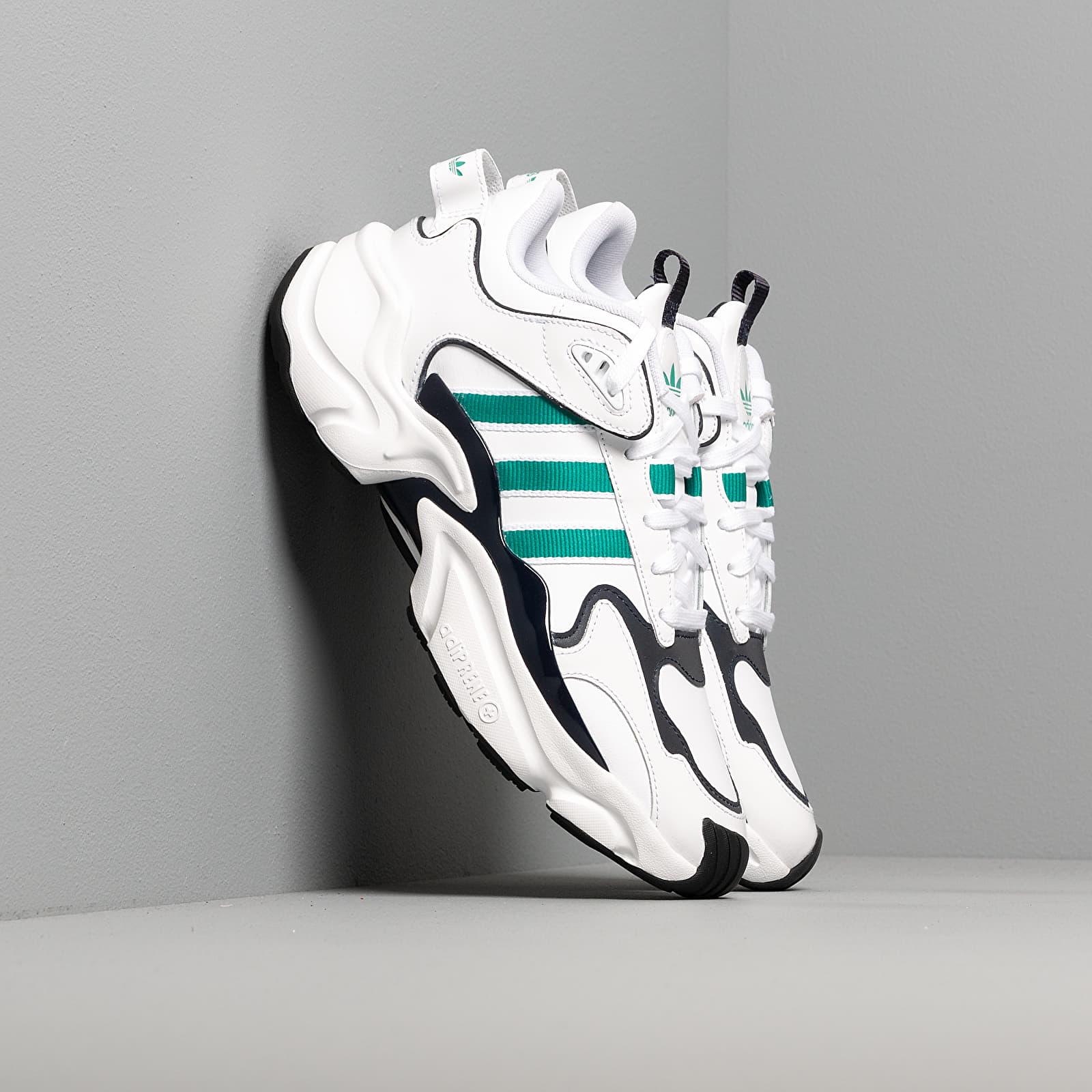 Chaussures et baskets femme adidas Magmur Runner W Ftw White/ Glow Green/ Legend Ink