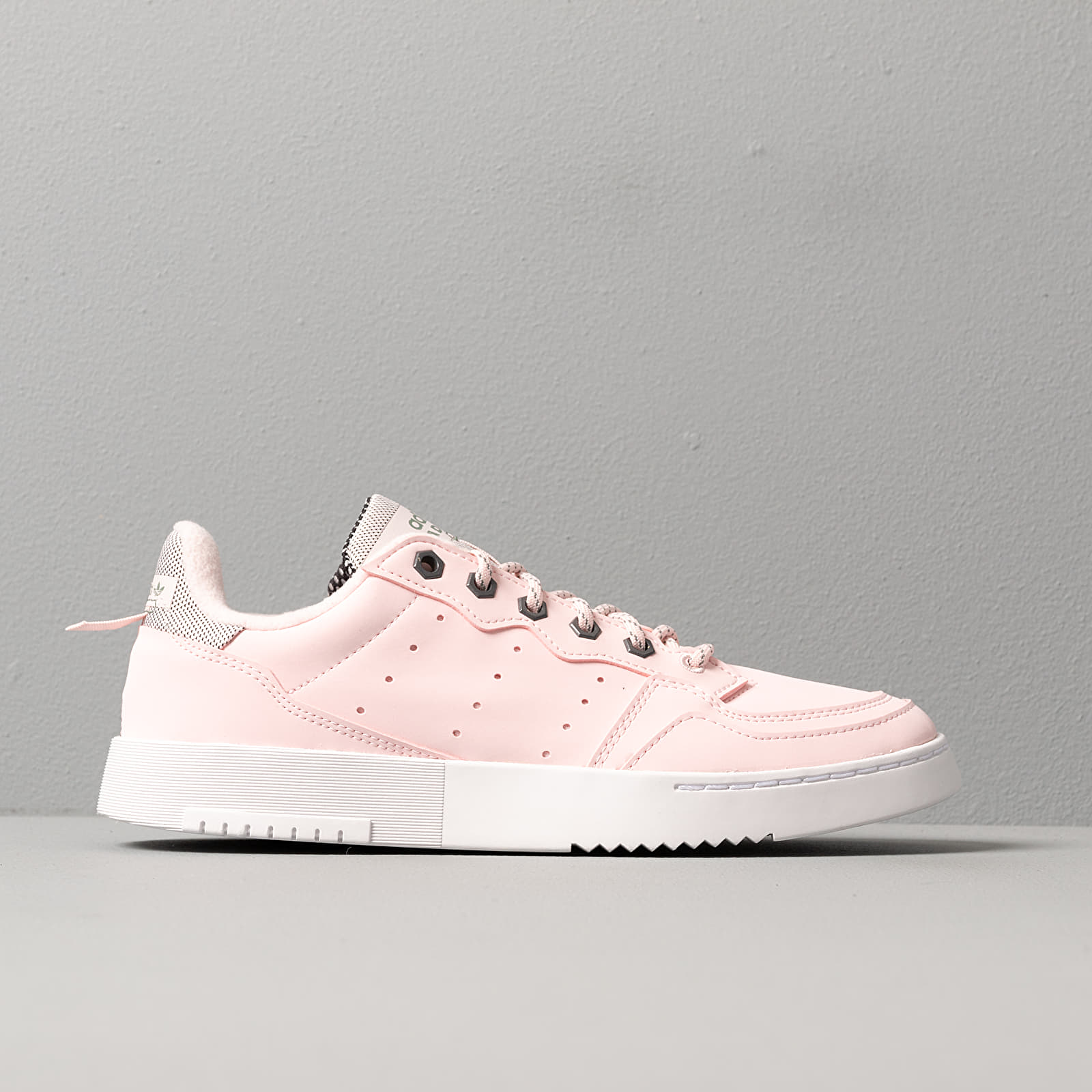 adidas Supercourt W Half Pink Half Pink Trace Green | Footshop