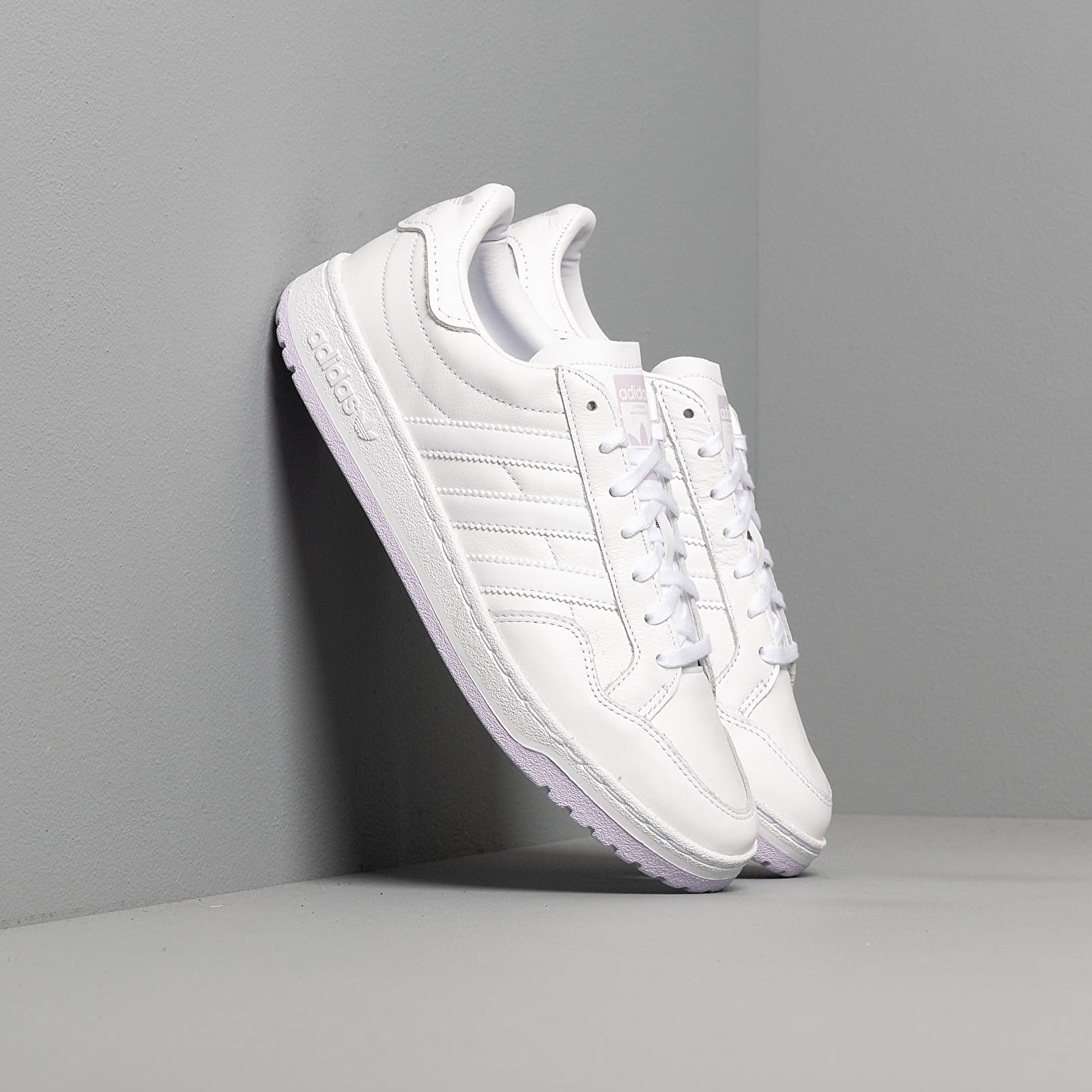 Frauen adidas Team Court W Ftw White/ Ftw White/ Purple Tint