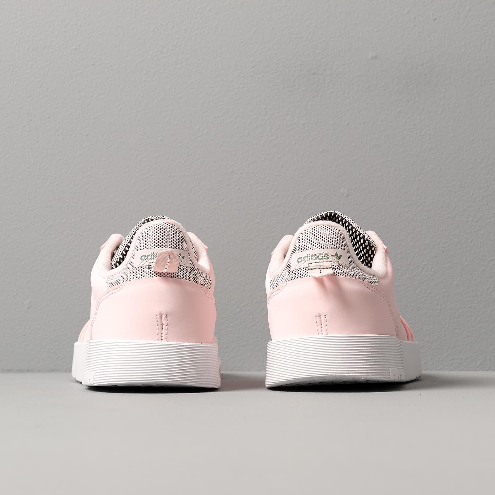 adidas Supercourt W Half Pink Half Pink Trace Green