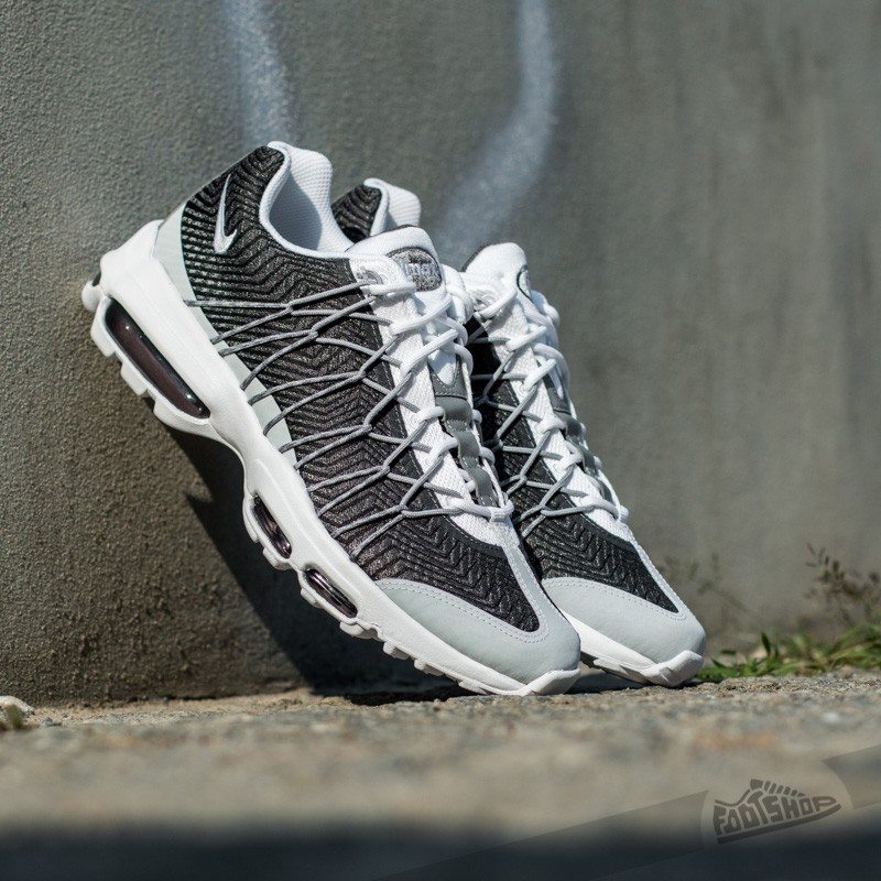 Nike Air Max 95 Ultra Jacquard WhiteWhite Wolf Grey Dark Grey | Footshop