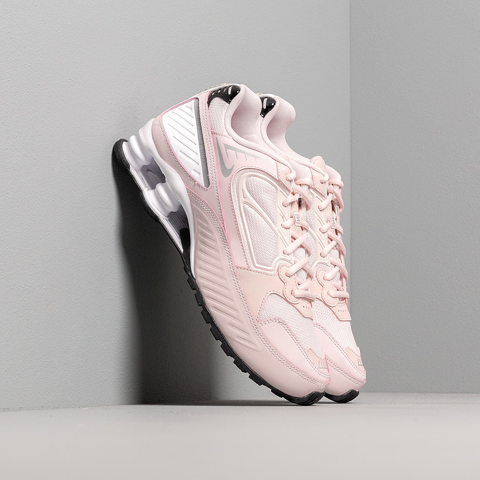 Nike W Shox Enigma 9000 Barely Rose/ Reflect Silver-Black-White | Footshop