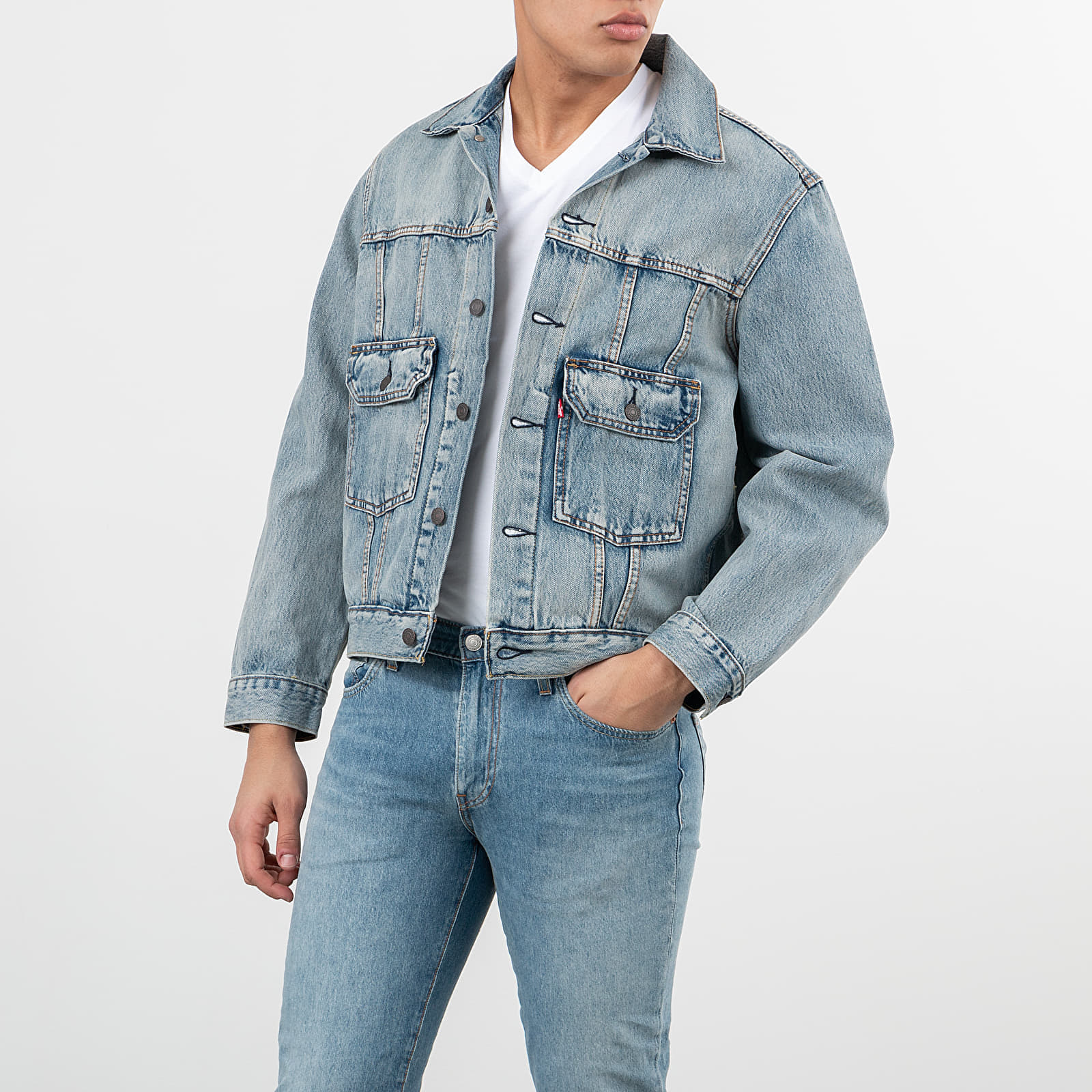 Geci Levi's® Denim Jacket Blue