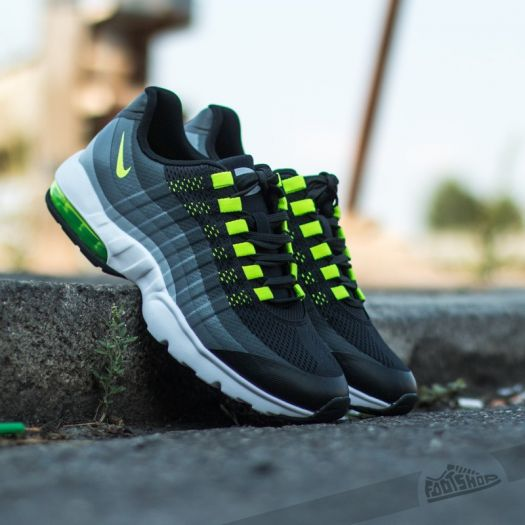 Nike Air Max 95 Ultra Shoe BlackAnthraciteDark GreyVolt