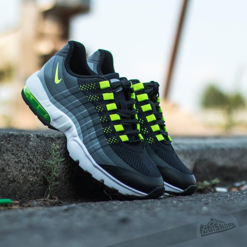 pretty nice 53b8a 801ed Nike Wmns Air Max 95 Ultra Black Volt-Anthracite-Dark Grey