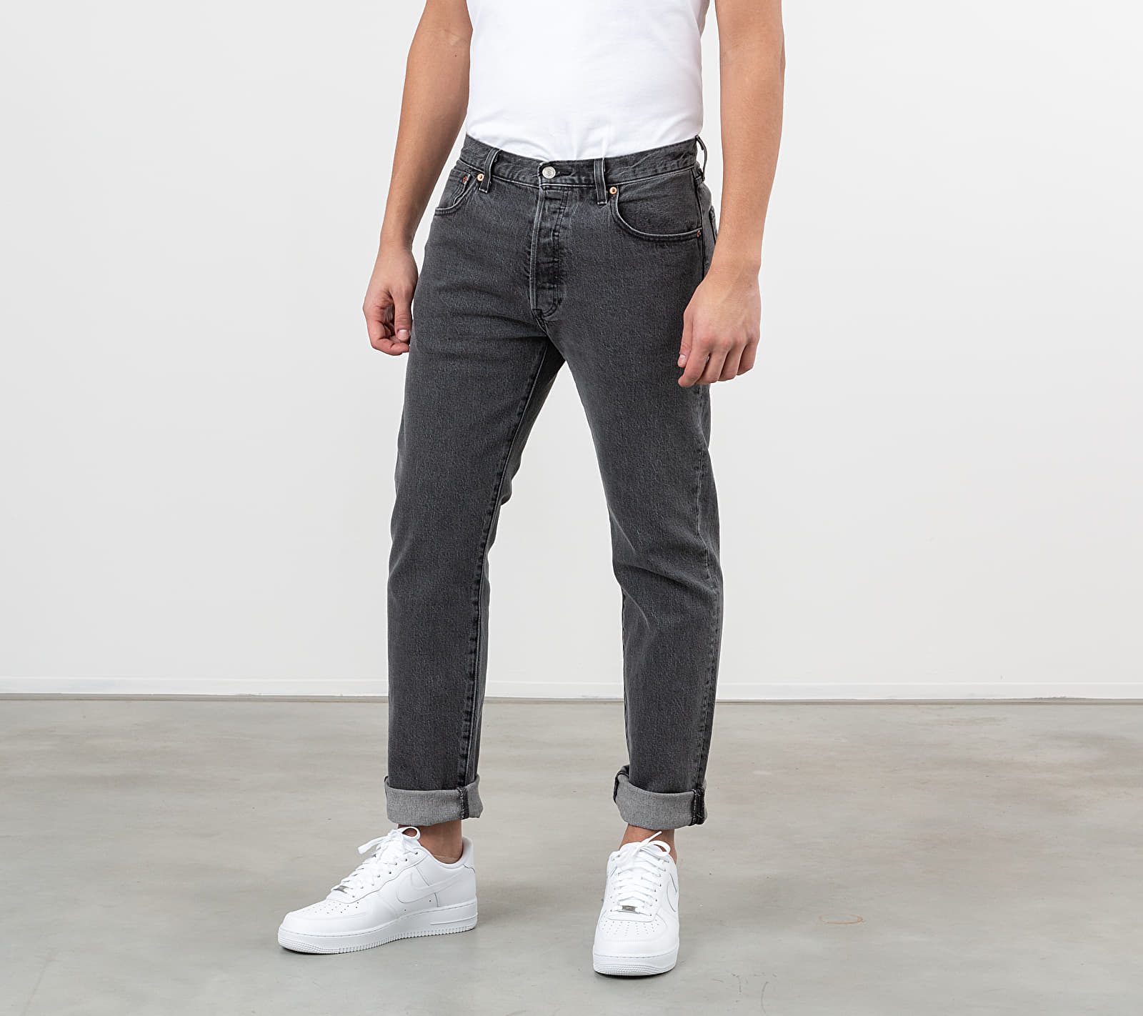Levi's® 501 Straight Jeans Raisin Stone, Black