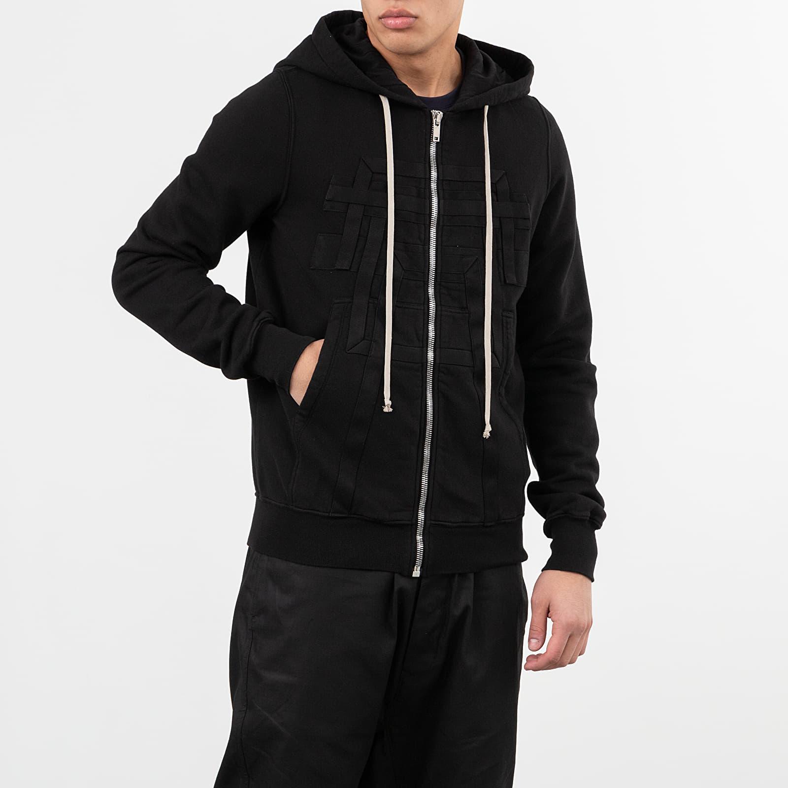 Sweatshirts Rick Owens DRKSHDW Jason's Hoodie Black