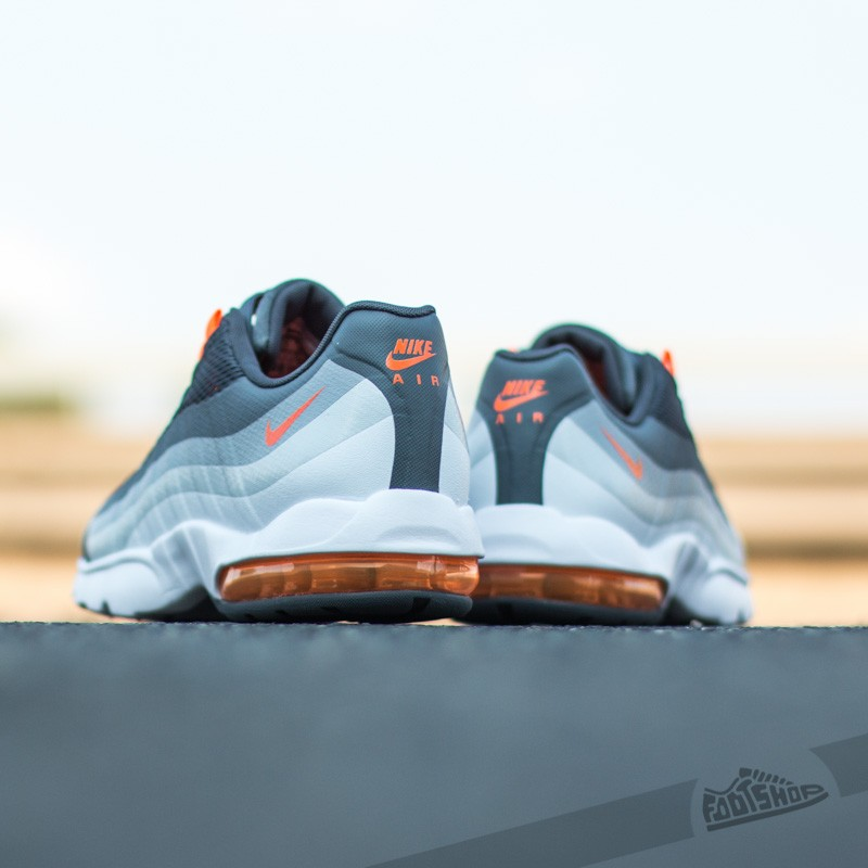 Nike Wmns Air Max 95 Ultra Dark GreyTotal Orange Cold Grey